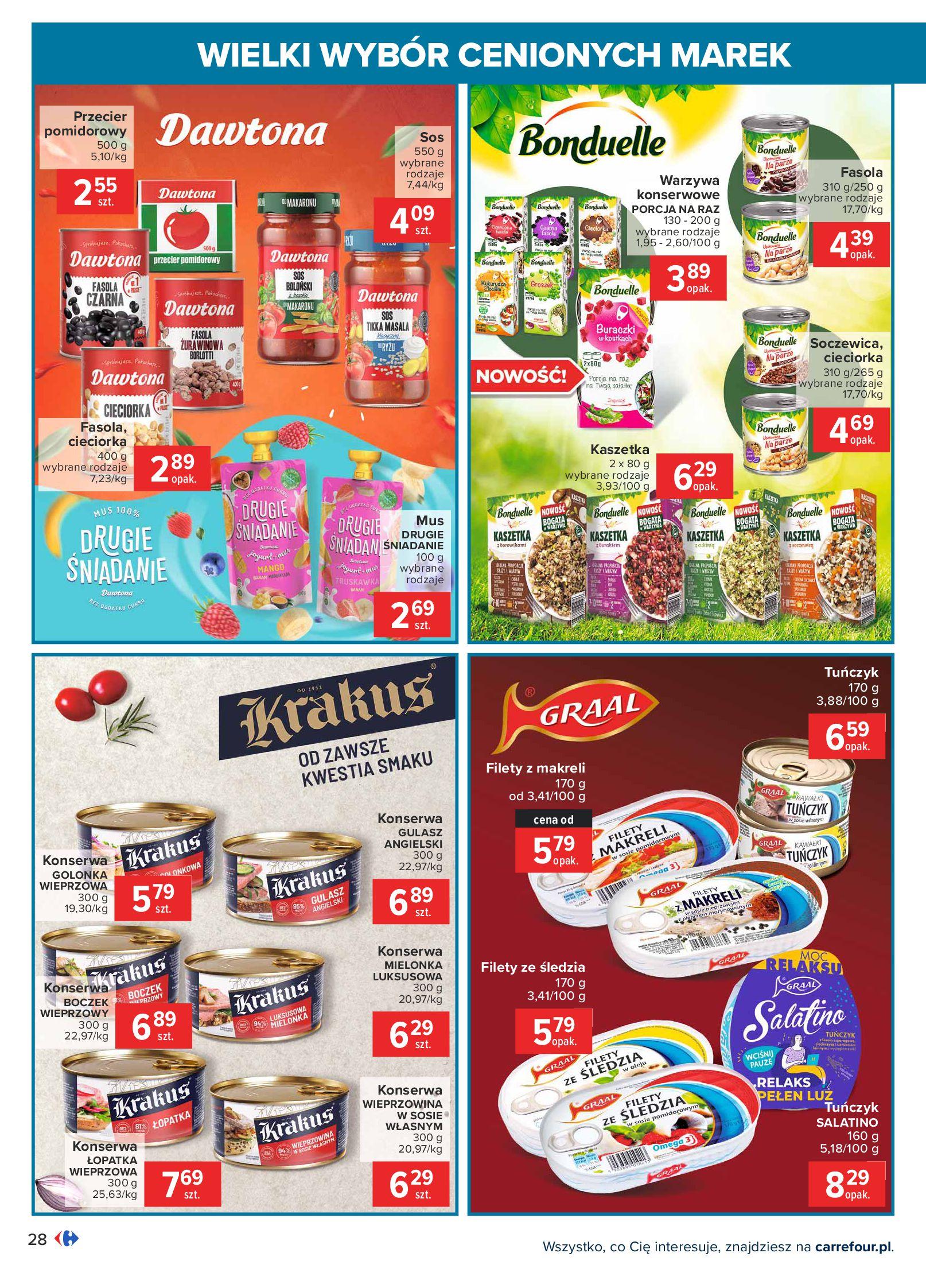 Gazetka Carrefour: Wielki wybór cenionych marek 2021-05-04 page-28