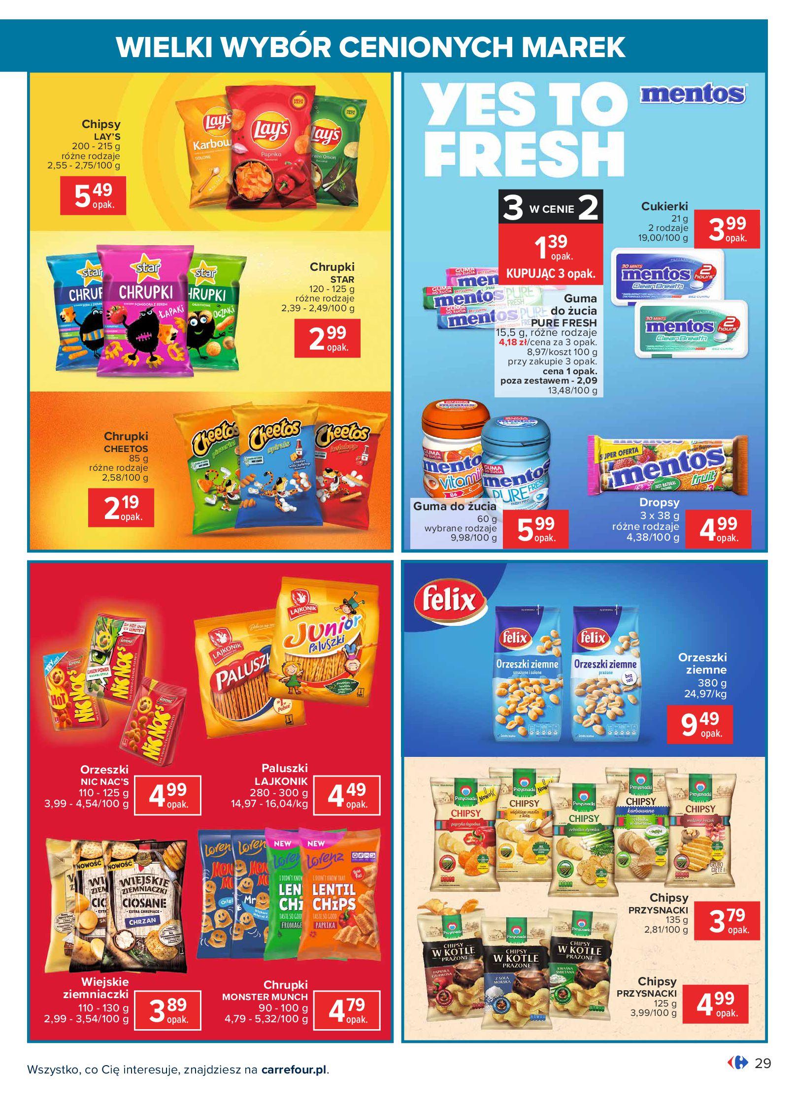 Gazetka Carrefour: Wielki wybór cenionych marek 2021-05-04 page-29