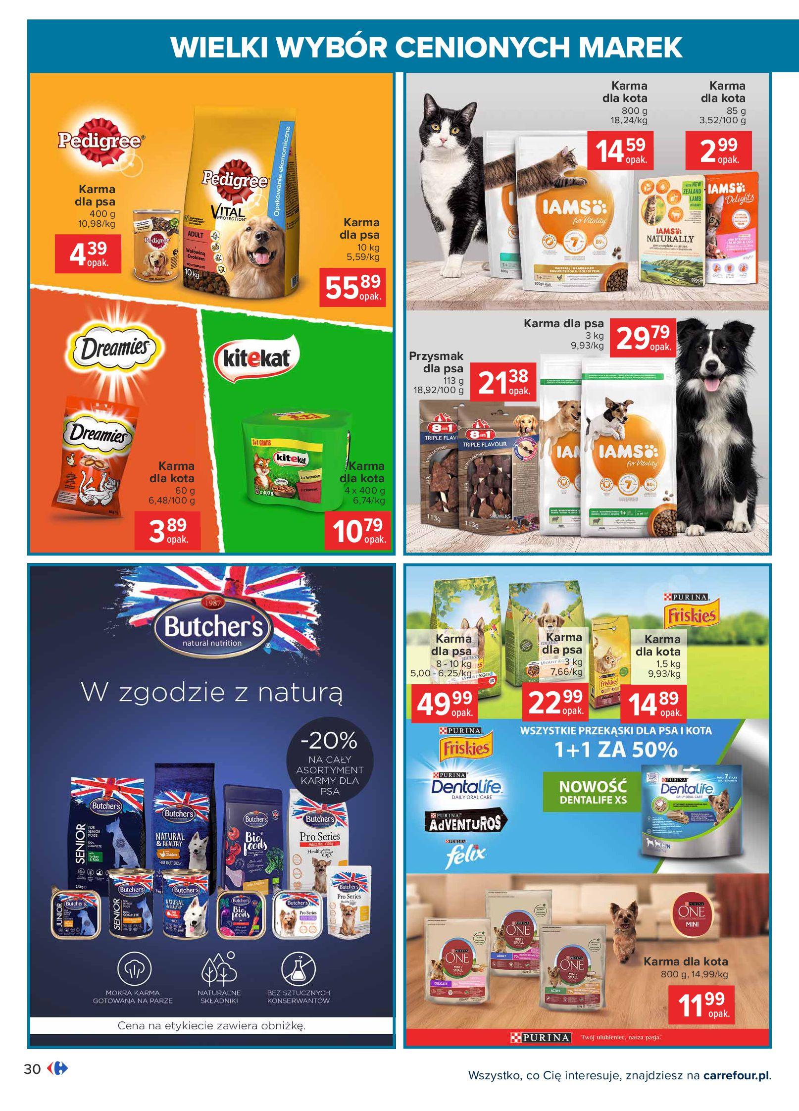Gazetka Carrefour: Wielki wybór cenionych marek 2021-05-04 page-30