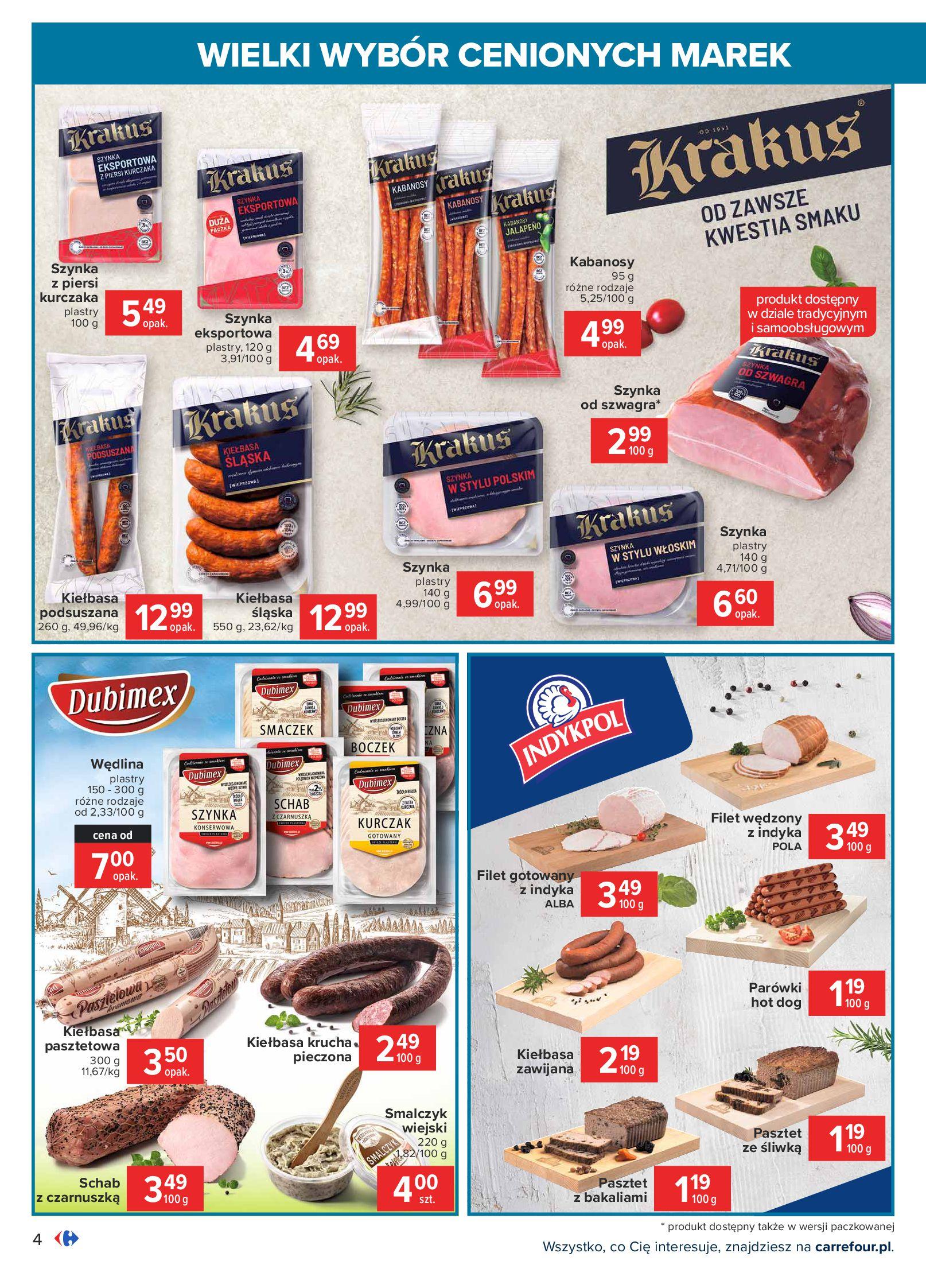 Gazetka Carrefour: Wielki wybór cenionych marek 2021-05-04 page-4
