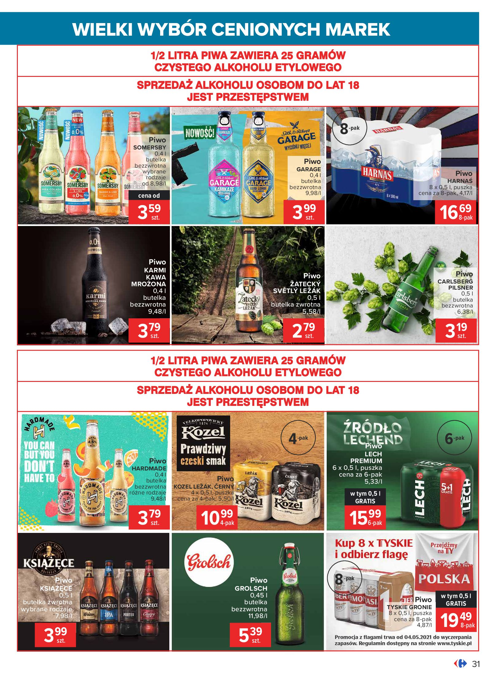Gazetka Carrefour: Wielki wybór cenionych marek 2021-05-04 page-31
