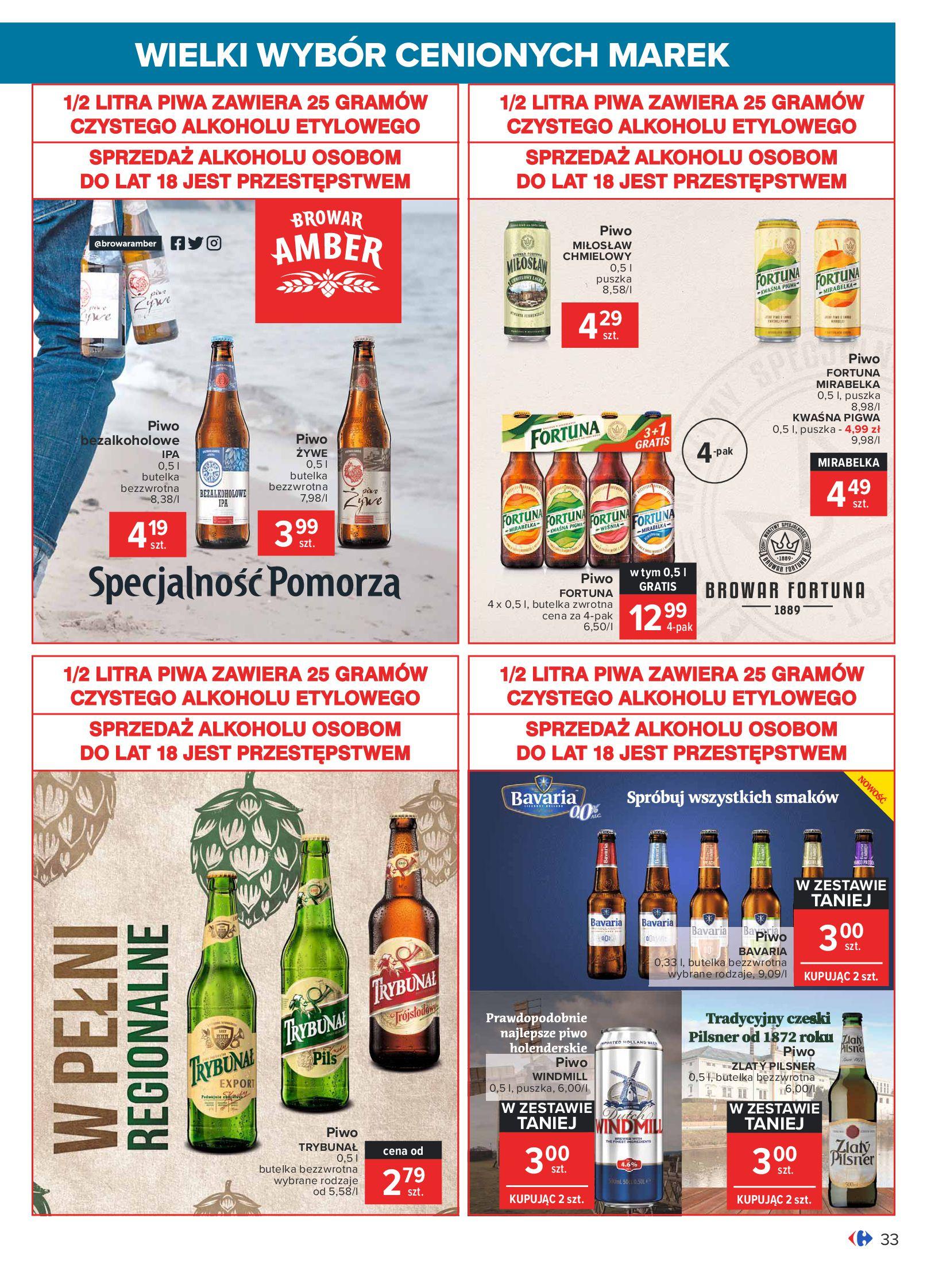 Gazetka Carrefour: Wielki wybór cenionych marek 2021-05-04 page-33