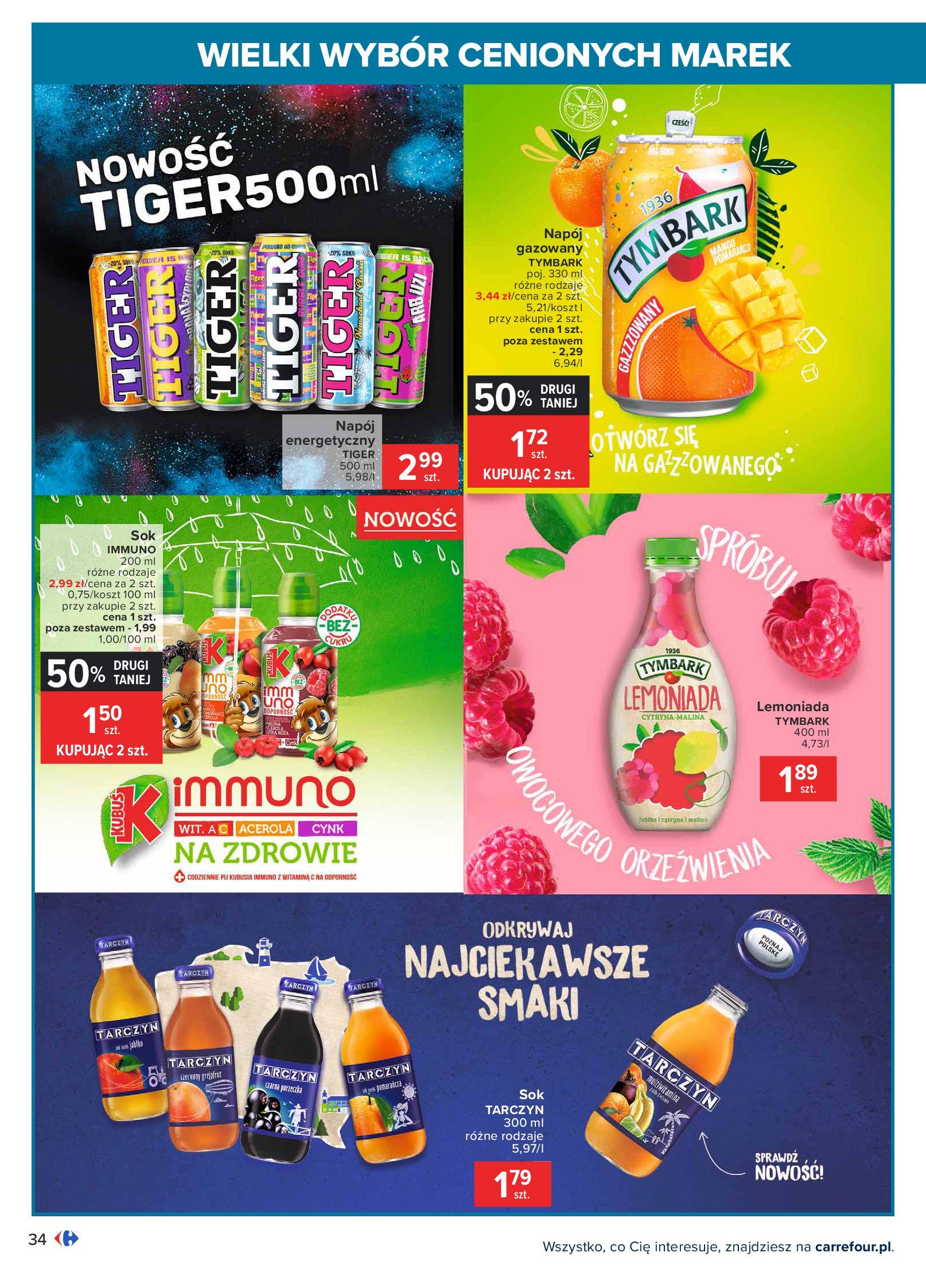 Gazetka Carrefour: Wielki wybór cenionych marek 2021-05-04 page-34