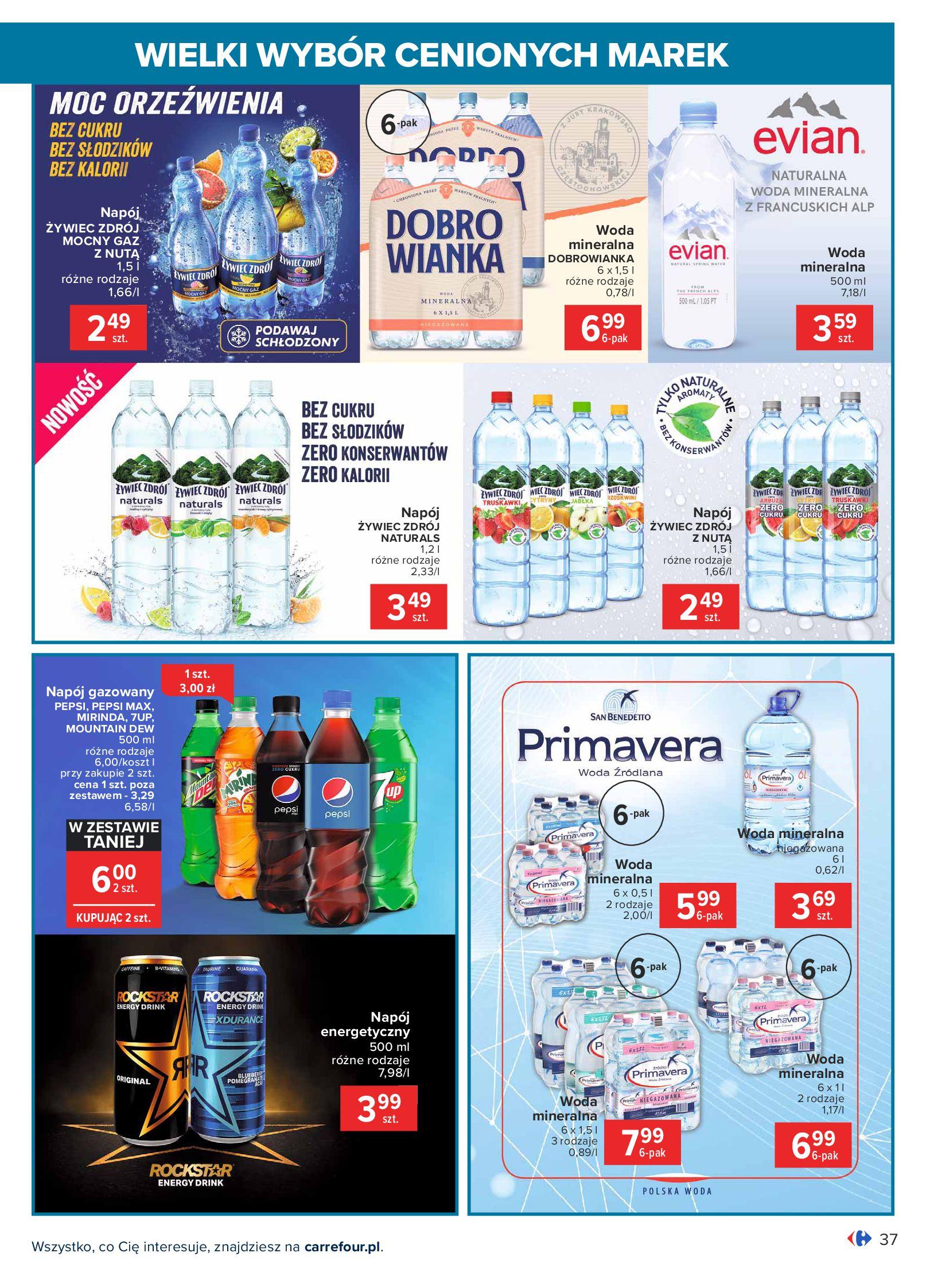Gazetka Carrefour: Wielki wybór cenionych marek 2021-05-04 page-37