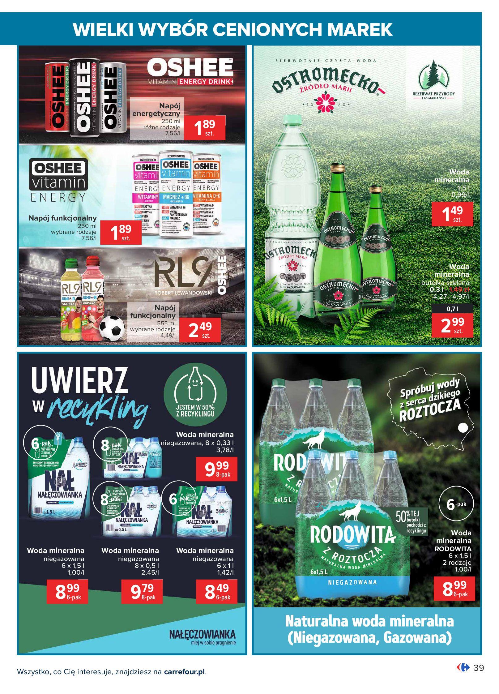 Gazetka Carrefour: Wielki wybór cenionych marek 2021-05-04 page-39