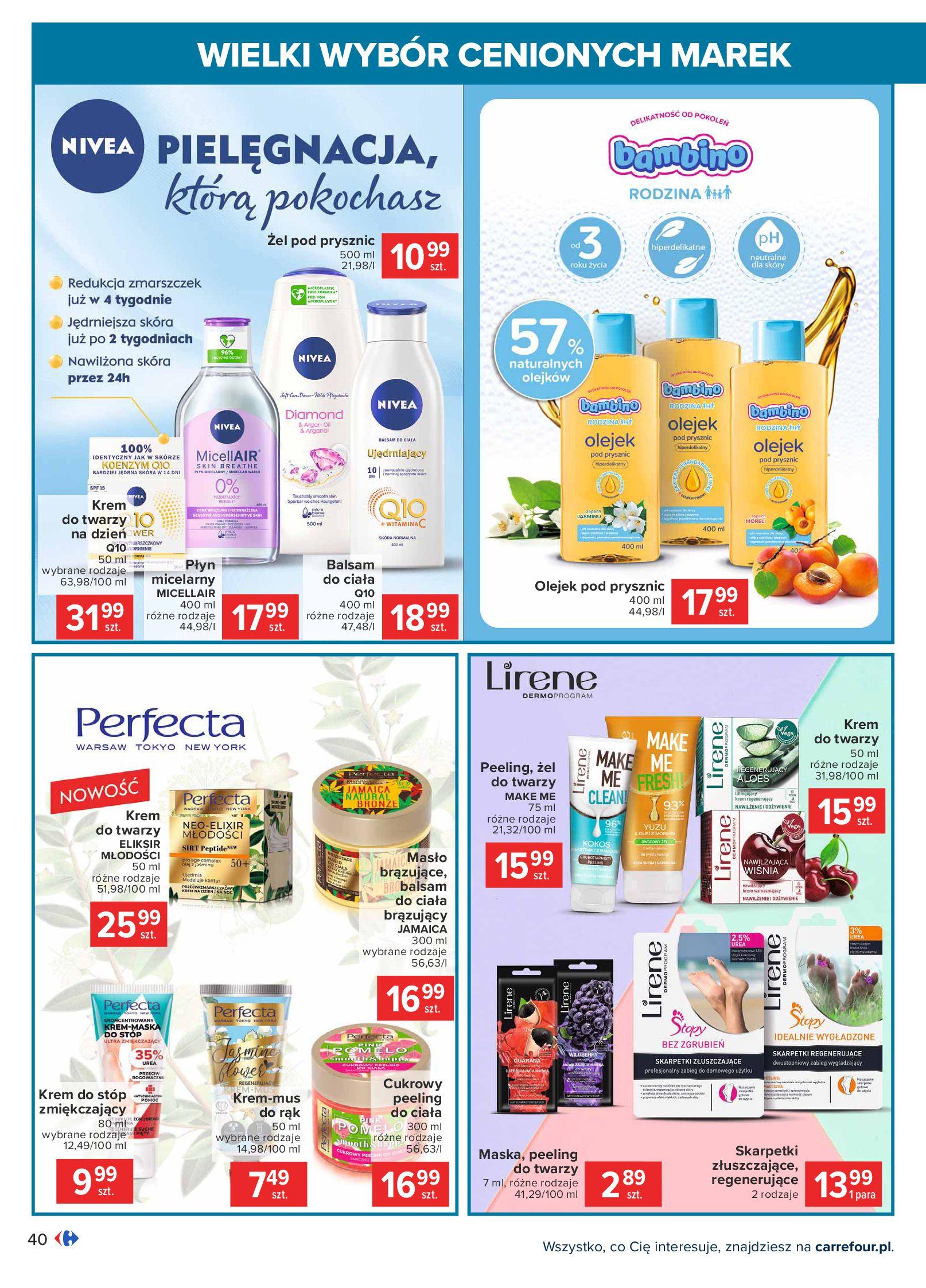 Gazetka Carrefour: Wielki wybór cenionych marek 2021-05-04 page-40