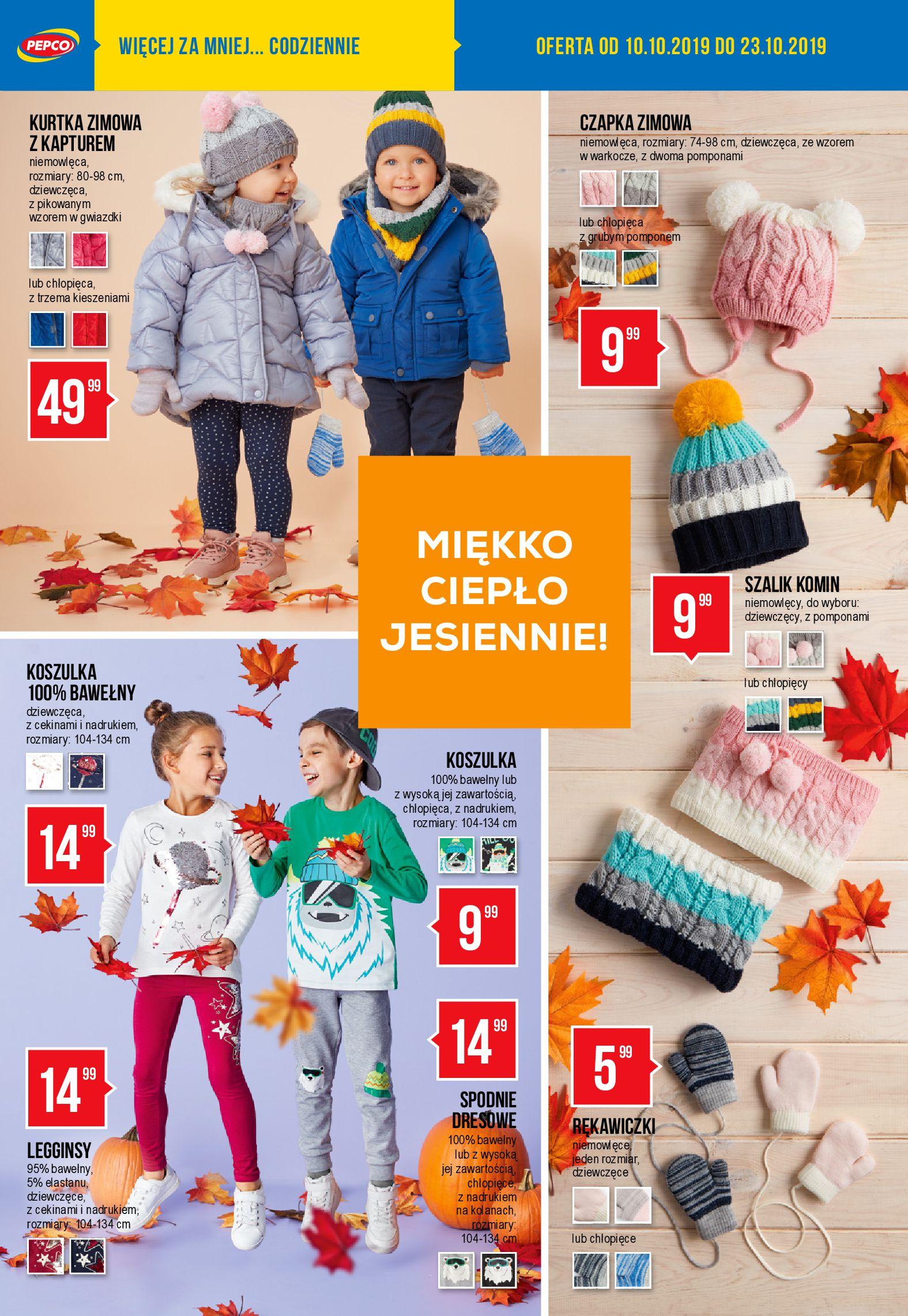 Gazetka Pepco - Oferta promocyjna-09.10.2019-23.10.2019-page-