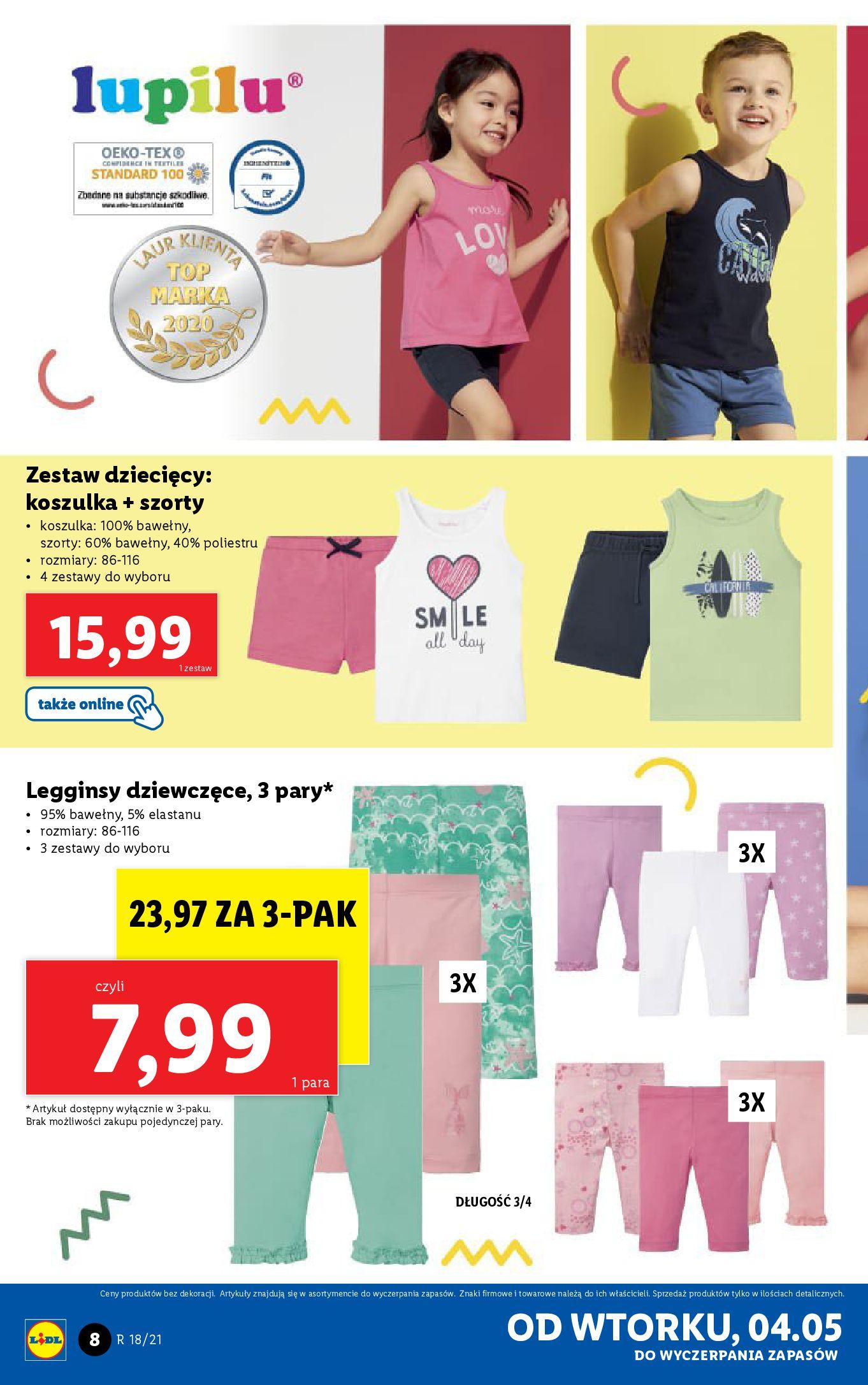 Gazetka Lidl: Katalog Lidl od 04.05 2021-05-04 page-8