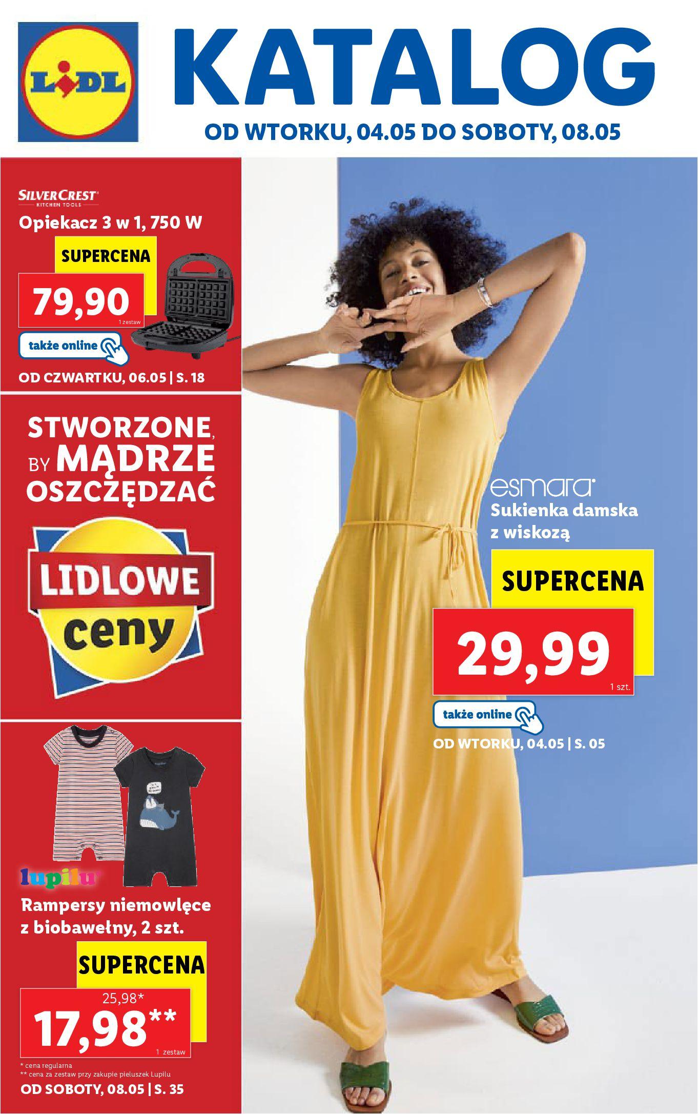 Gazetka Lidl: Katalog Lidl od 04.05 2021-05-04 page-1