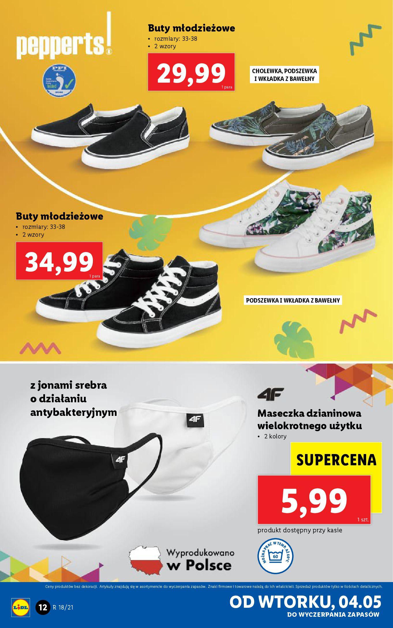 Gazetka Lidl: Katalog Lidl od 04.05 2021-05-04 page-12