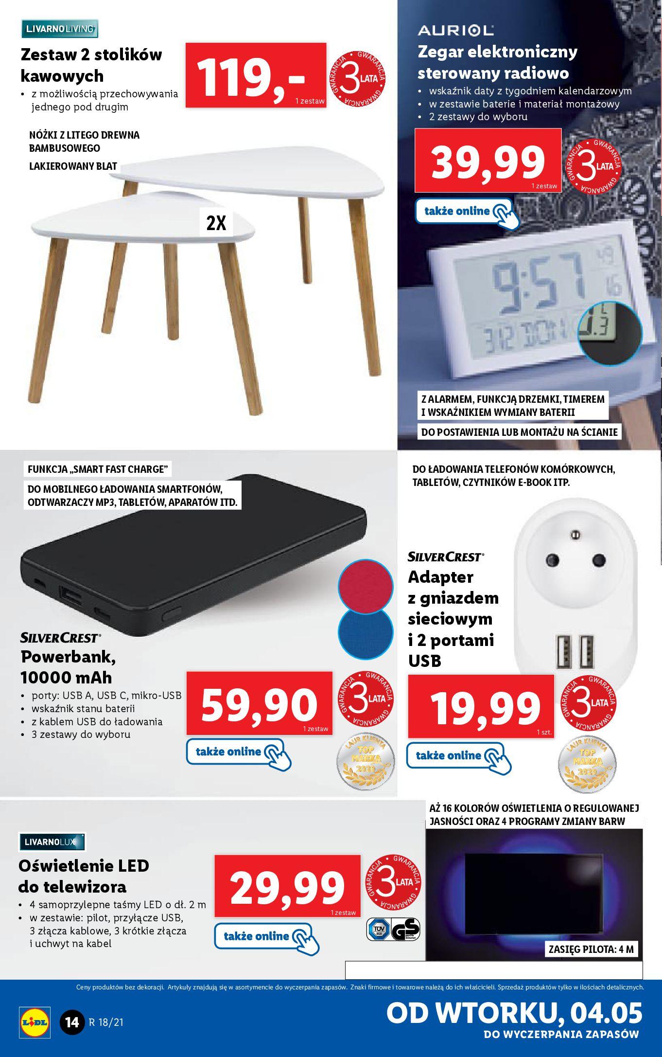 Gazetka Lidl: Katalog Lidl od 04.05 2021-05-04 page-14