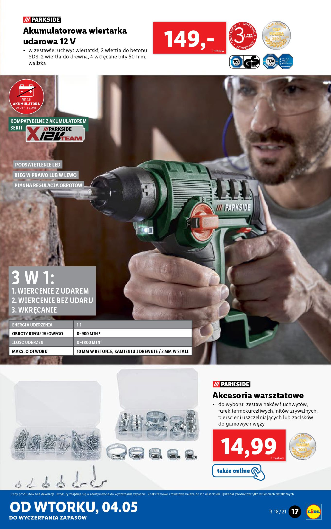 Gazetka Lidl: Katalog Lidl od 04.05 2021-05-04 page-17