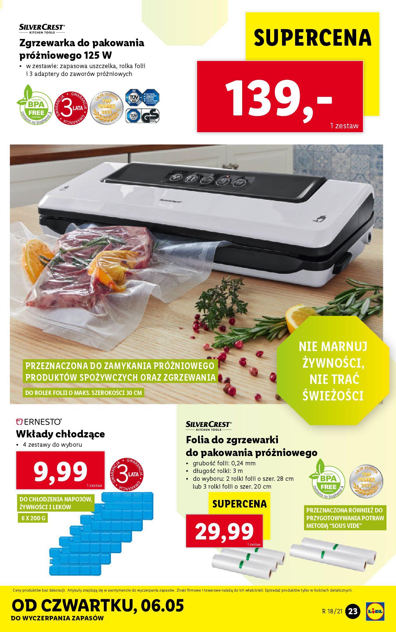 Gazetka Lidl: Katalog Lidl od 04.05 2021-05-04 page-23