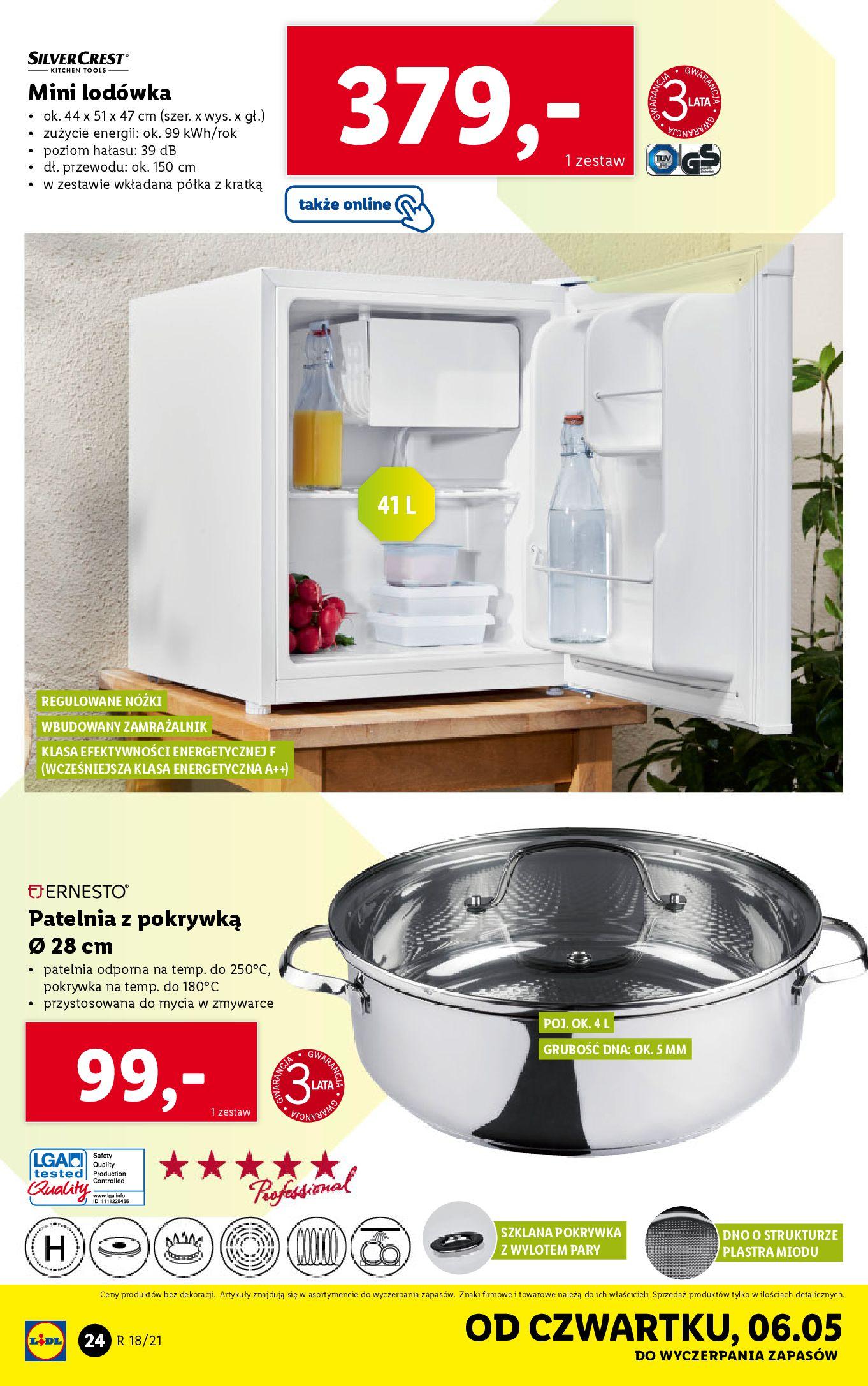 Gazetka Lidl: Katalog Lidl od 04.05 2021-05-04 page-24