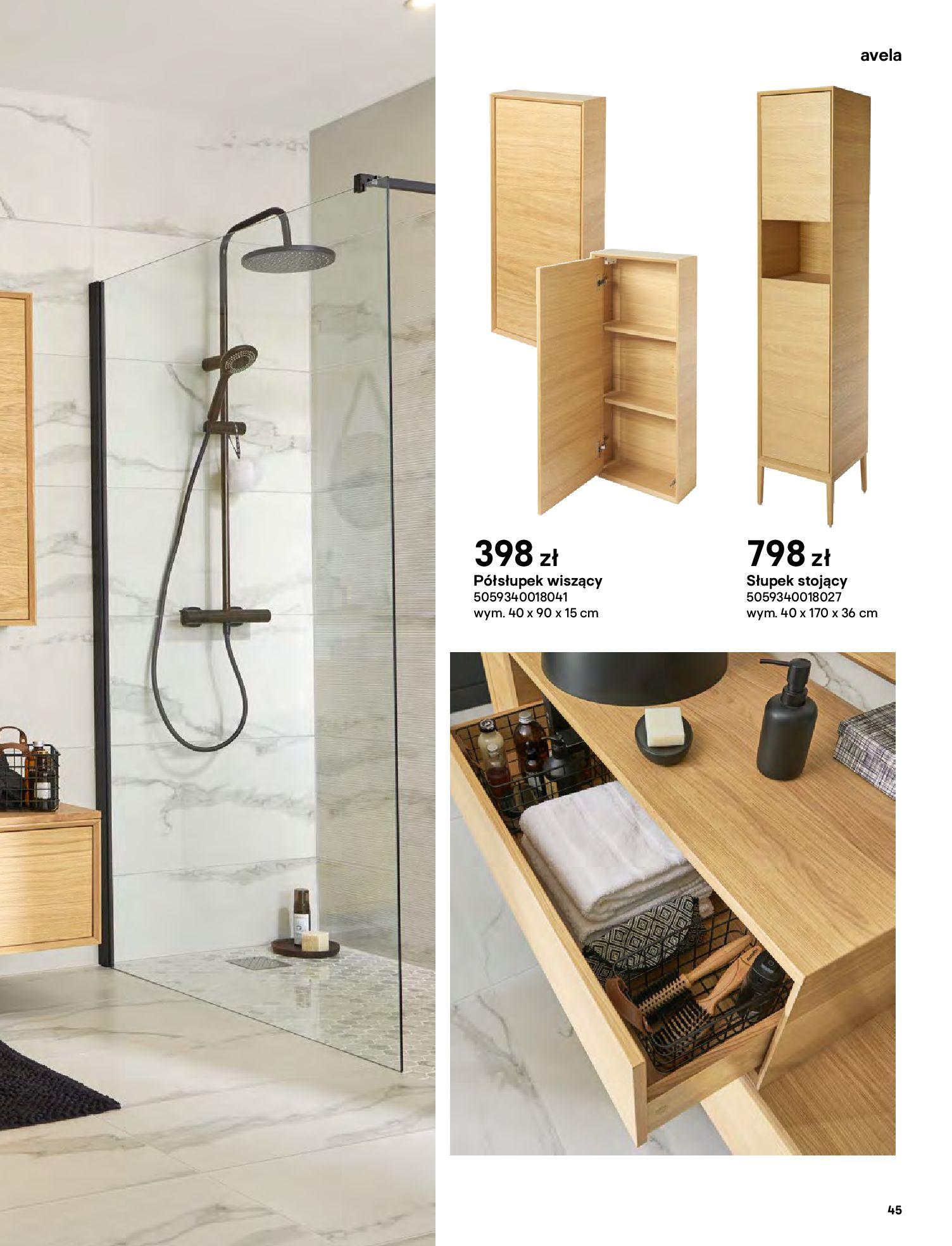 Gazetka Castorama: Gazetka Castorama - katalog łazienki 2021 2021-06-16 page-45