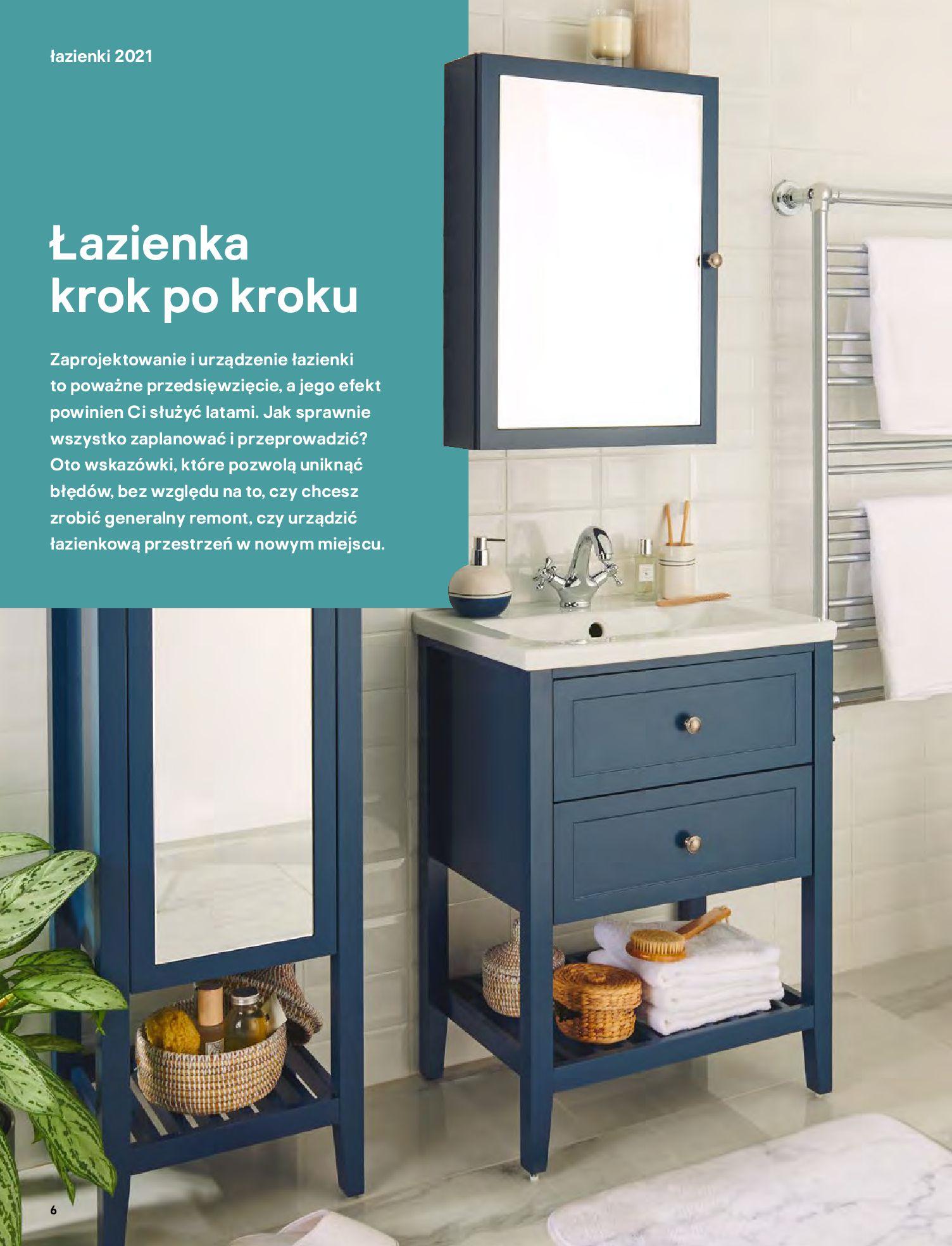 Gazetka Castorama: Gazetka Castorama - katalog łazienki 2021 2021-06-16 page-6