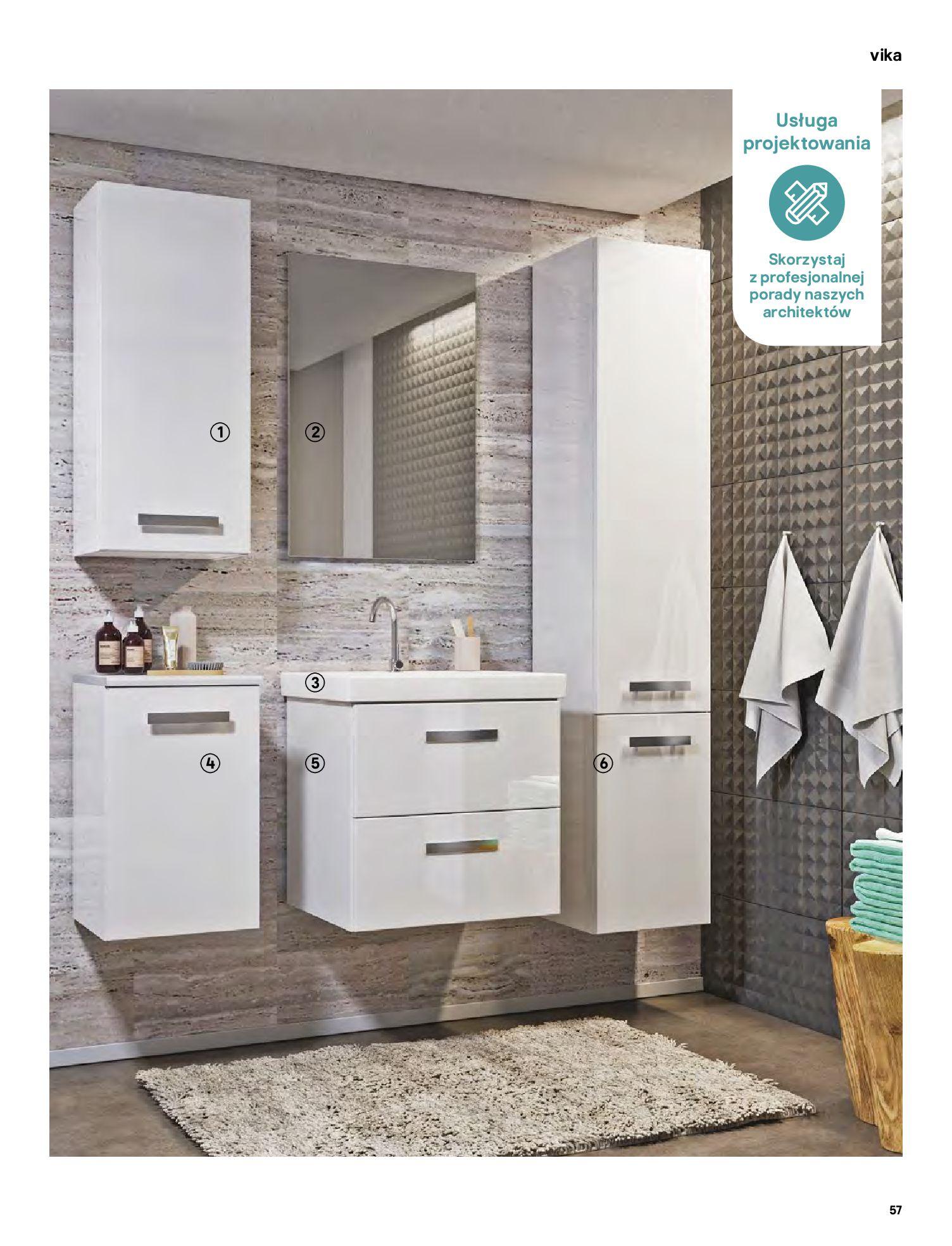 Gazetka Castorama: Gazetka Castorama - katalog łazienki 2021 2021-06-16 page-57