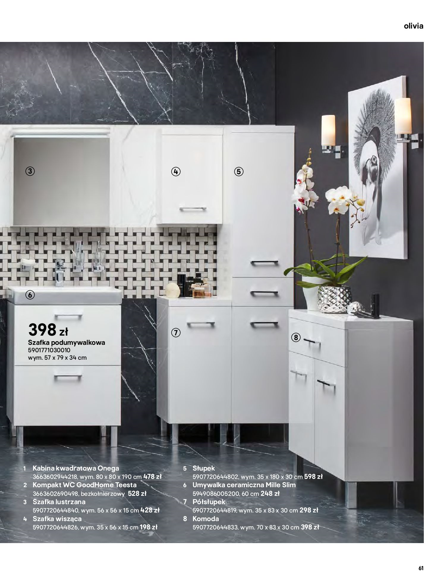 Gazetka Castorama: Gazetka Castorama - katalog łazienki 2021 2021-06-16 page-61