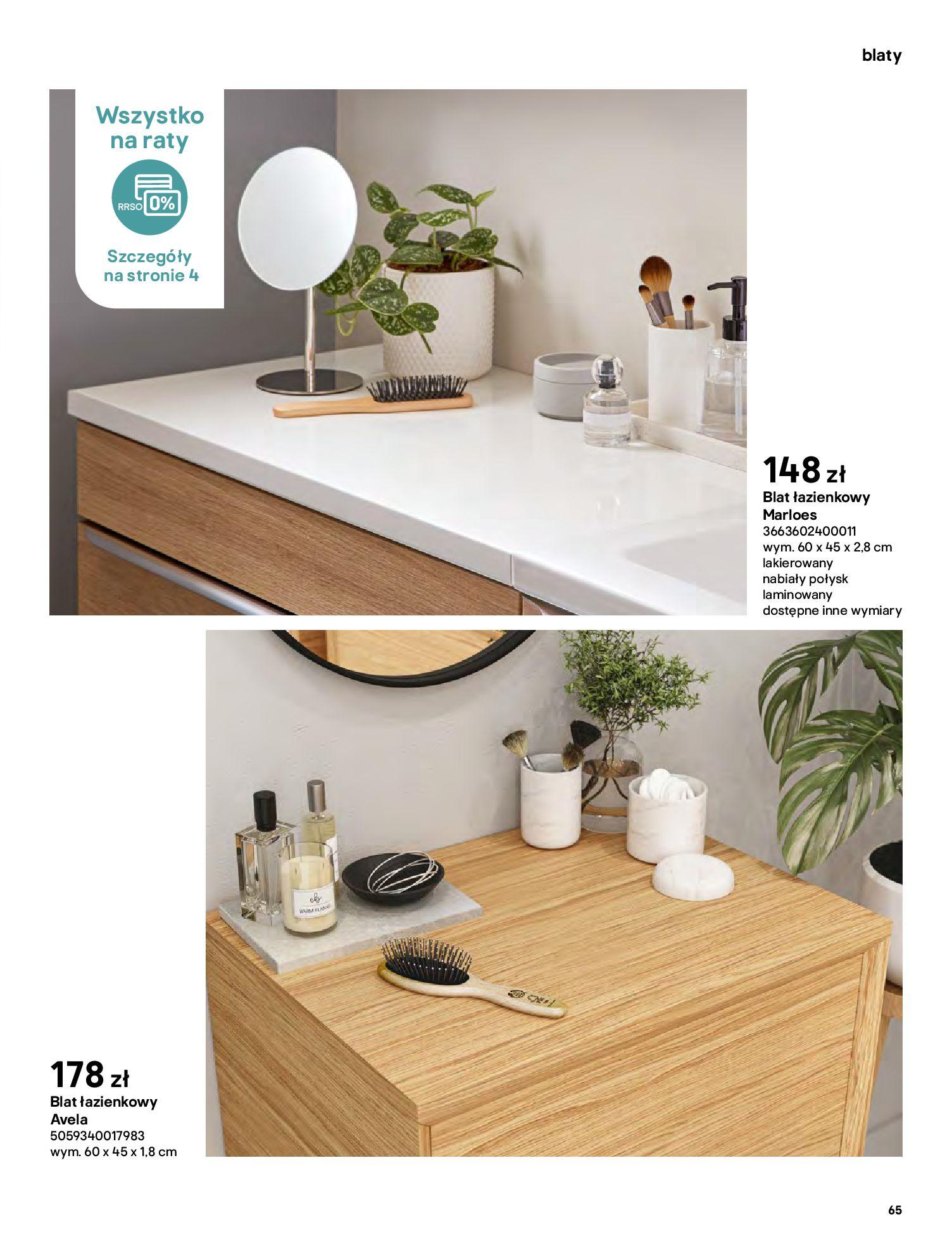 Gazetka Castorama: Gazetka Castorama - katalog łazienki 2021 2021-06-16 page-65
