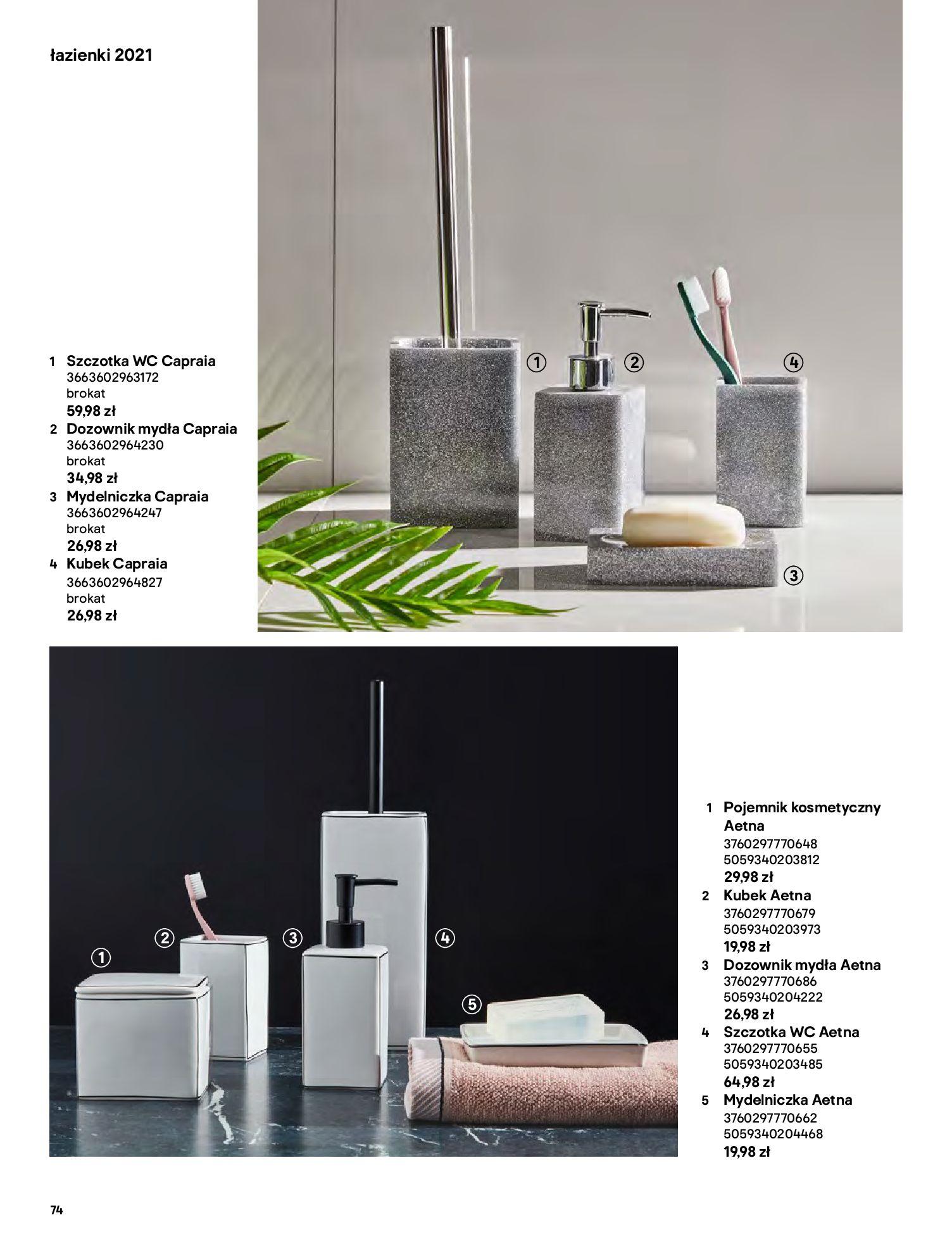 Gazetka Castorama: Gazetka Castorama - katalog łazienki 2021 2021-06-16 page-74