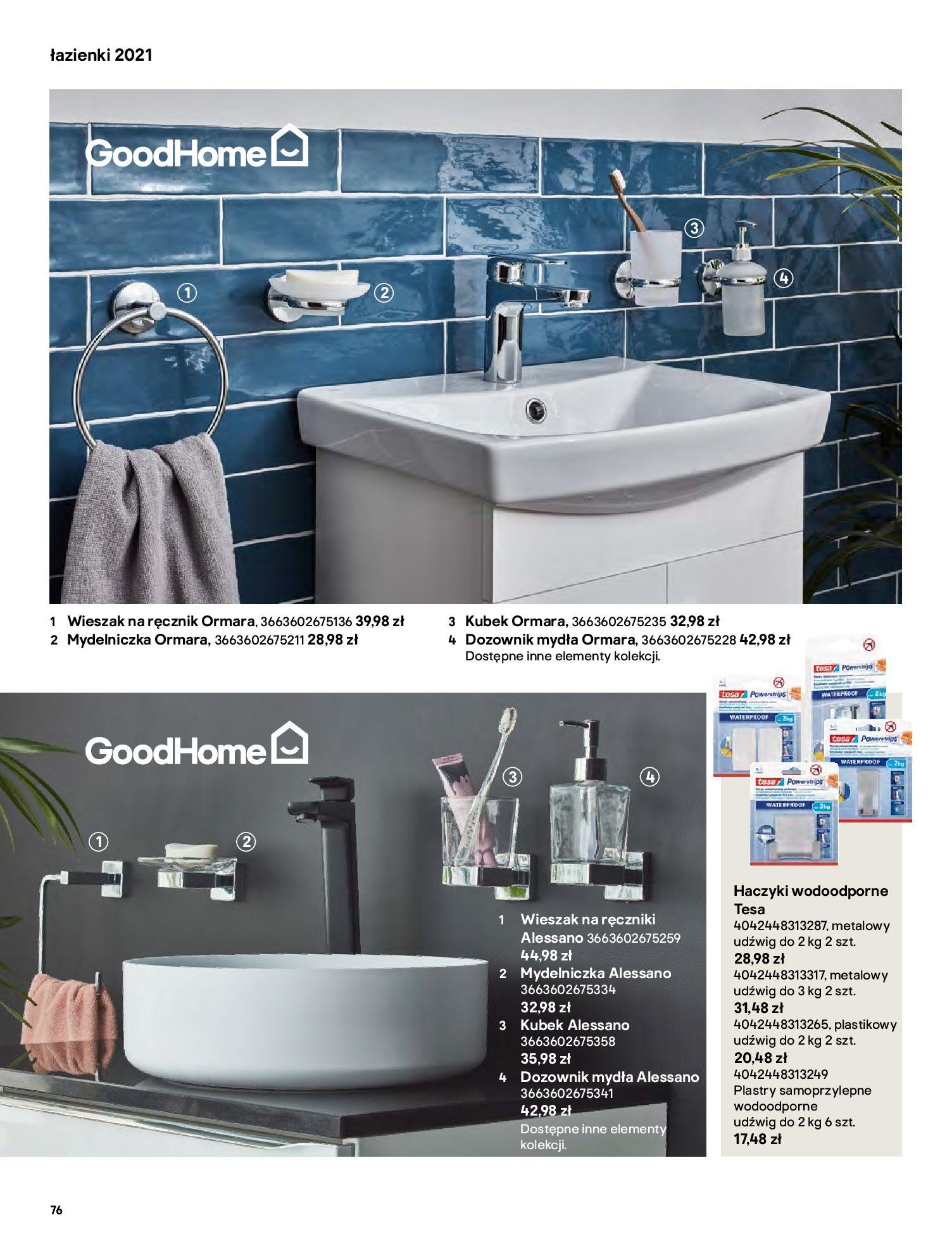 Gazetka Castorama: Gazetka Castorama - katalog łazienki 2021 2021-06-16 page-76