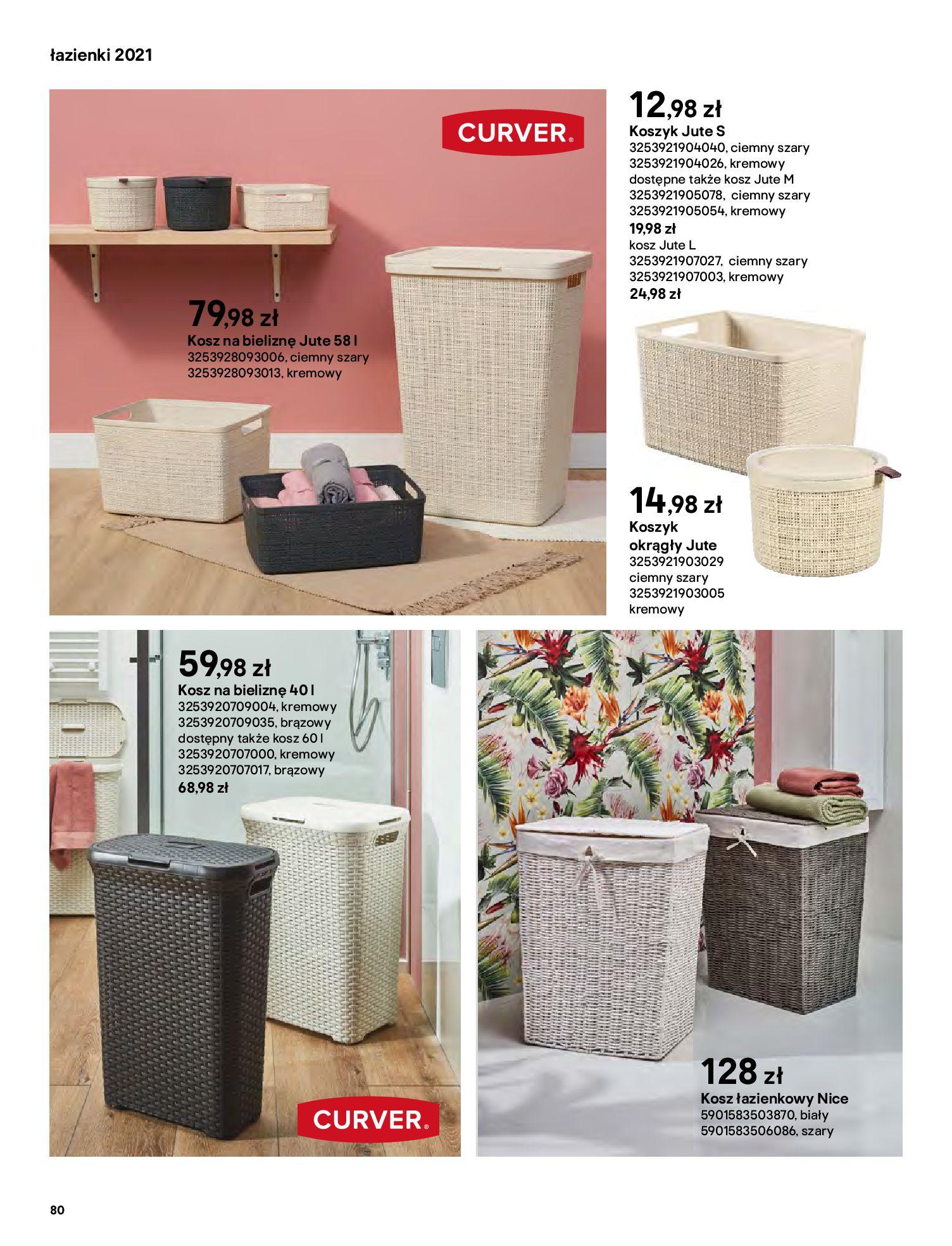 Gazetka Castorama: Gazetka Castorama - katalog łazienki 2021 2021-06-16 page-80