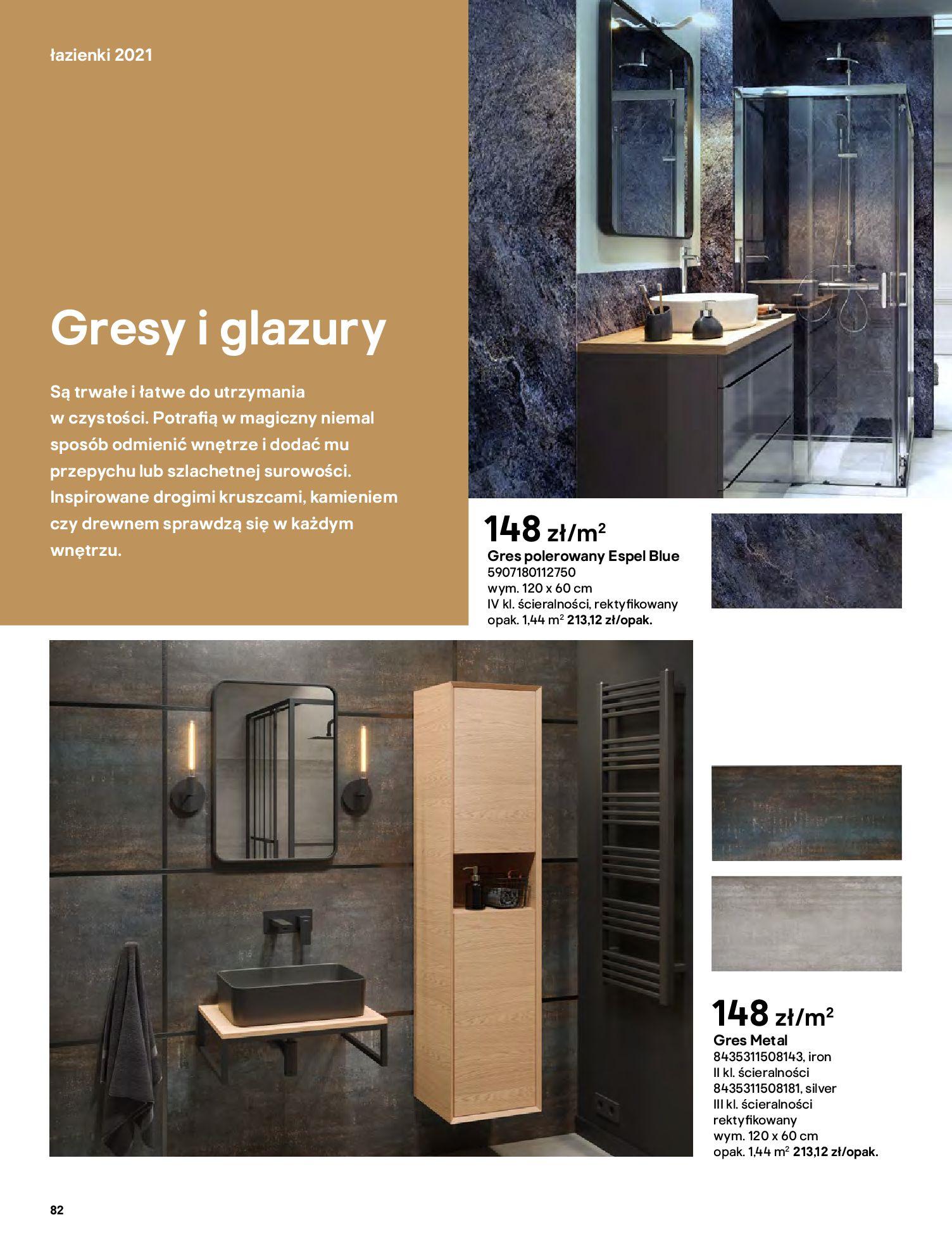 Gazetka Castorama: Gazetka Castorama - katalog łazienki 2021 2021-06-16 page-82