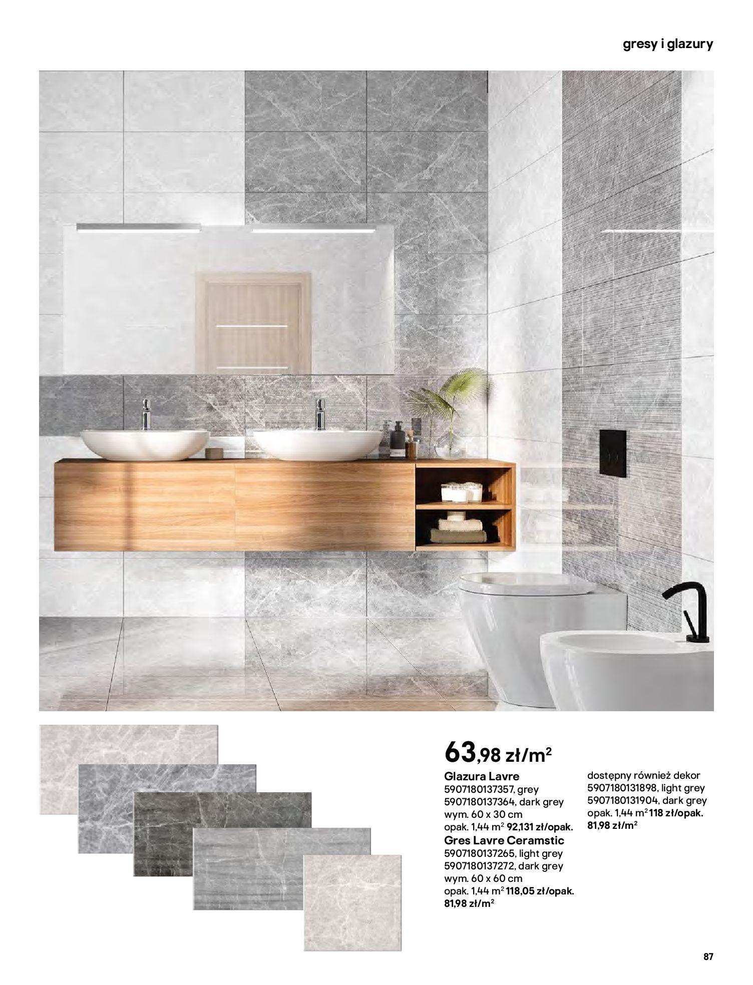 Gazetka Castorama: Gazetka Castorama - katalog łazienki 2021 2021-06-16 page-87