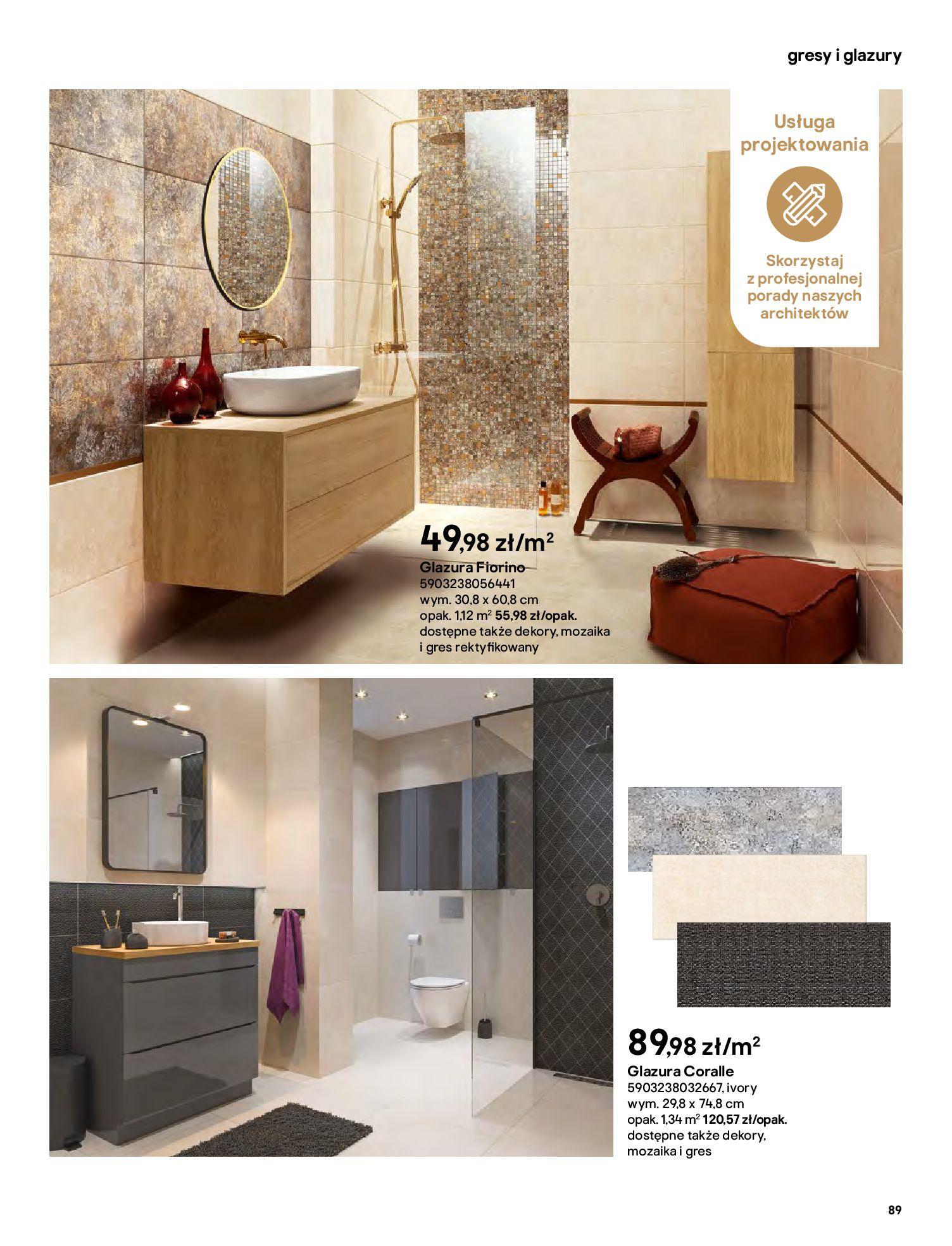 Gazetka Castorama: Gazetka Castorama - katalog łazienki 2021 2021-06-16 page-89