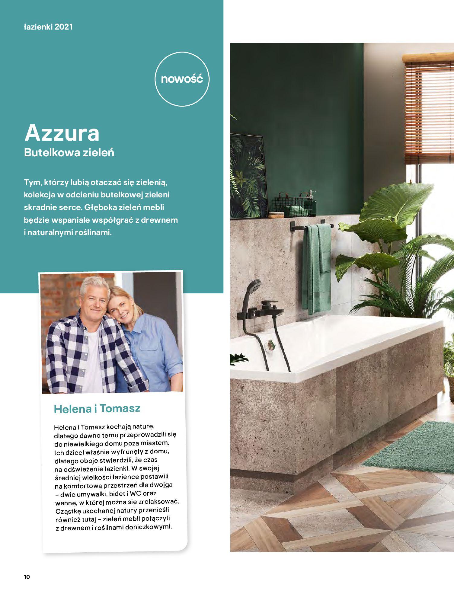 Gazetka Castorama: Gazetka Castorama - katalog łazienki 2021 2021-06-16 page-10