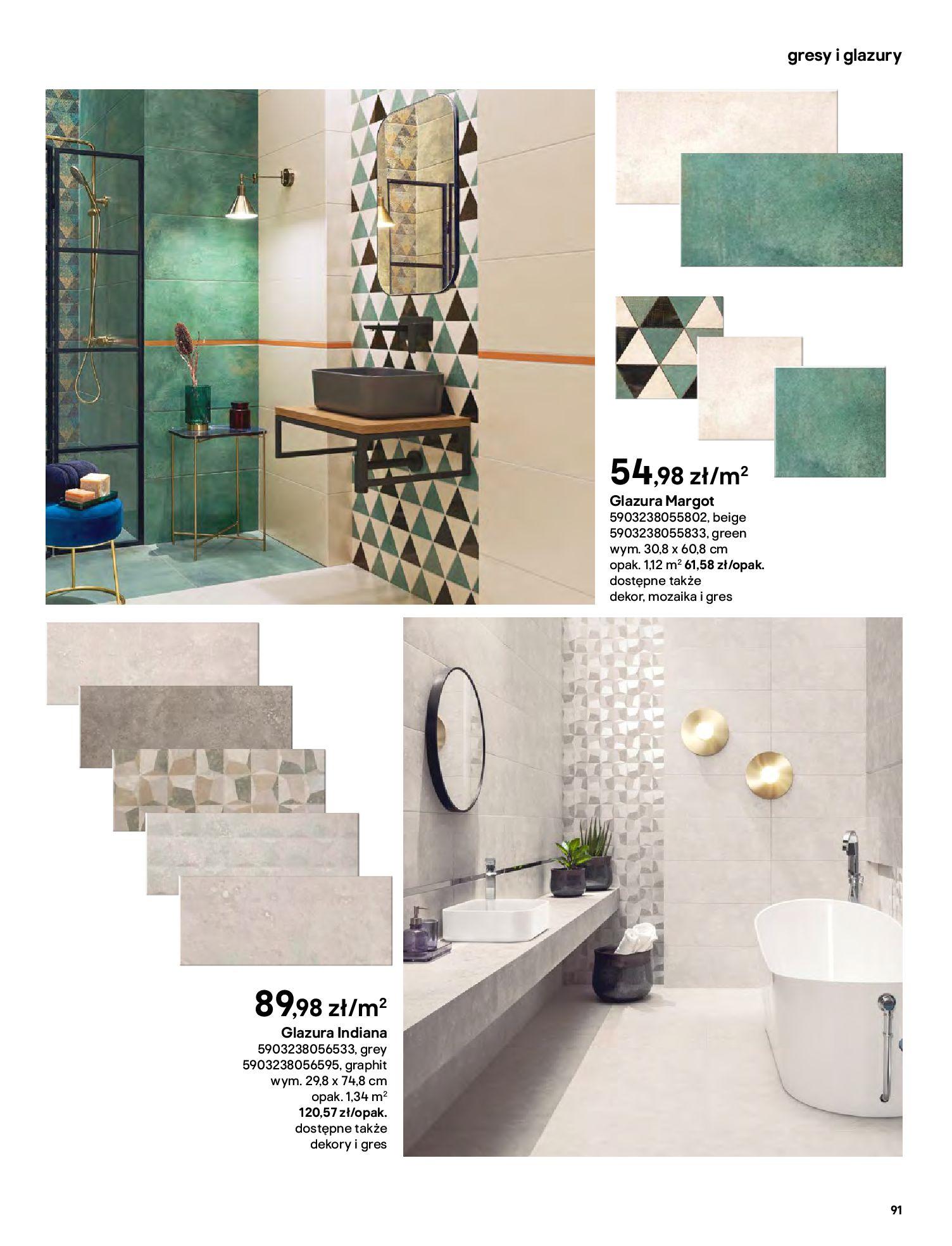 Gazetka Castorama: Gazetka Castorama - katalog łazienki 2021 2021-06-16 page-91