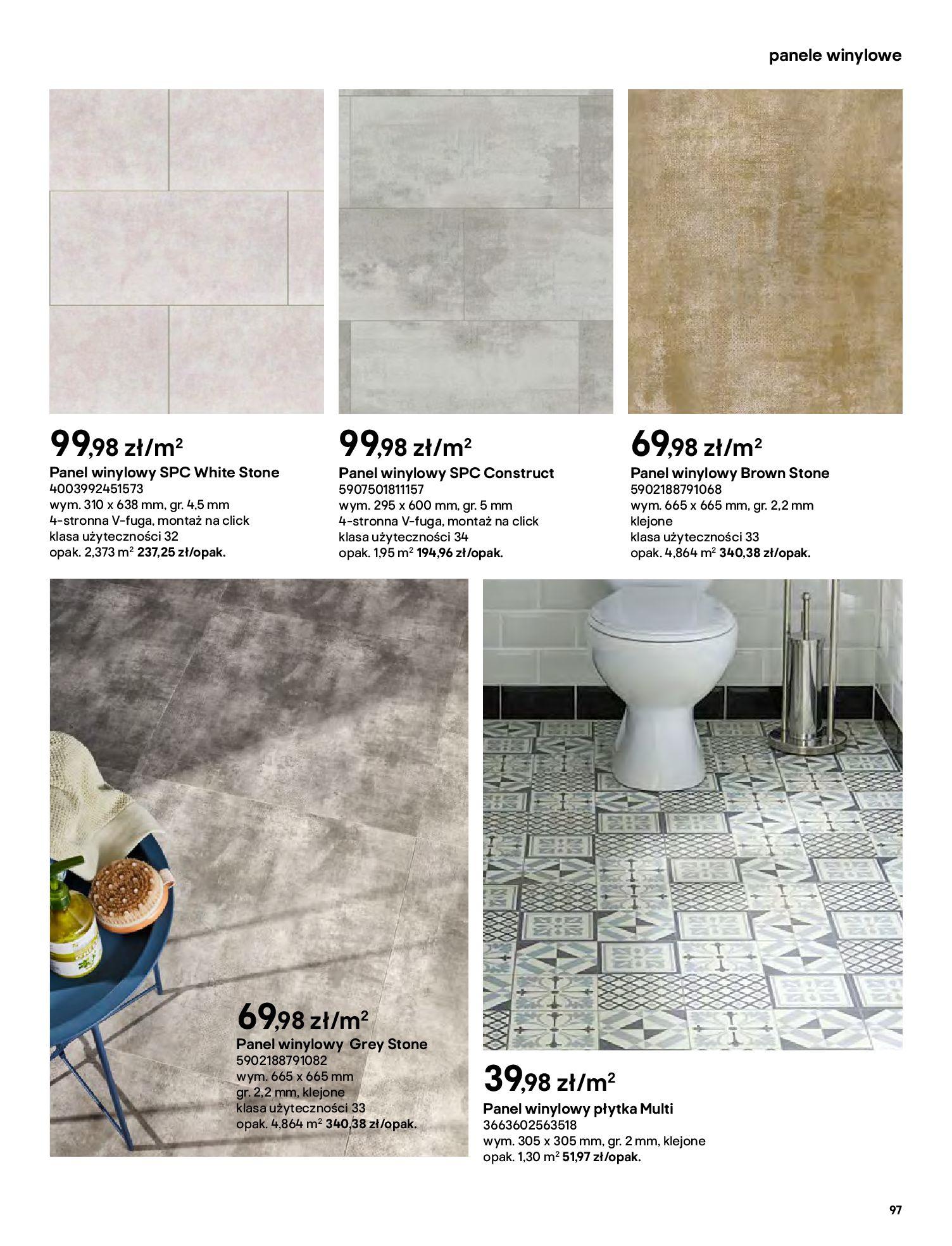 Gazetka Castorama: Gazetka Castorama - katalog łazienki 2021 2021-06-16 page-97