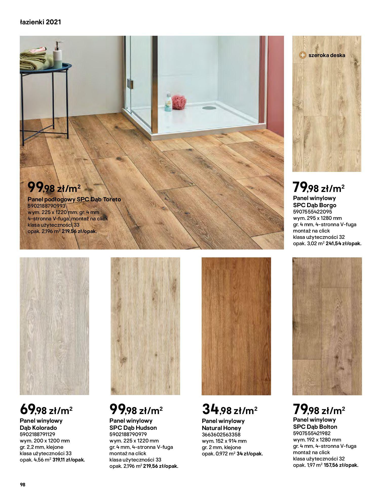Gazetka Castorama: Gazetka Castorama - katalog łazienki 2021 2021-06-16 page-98