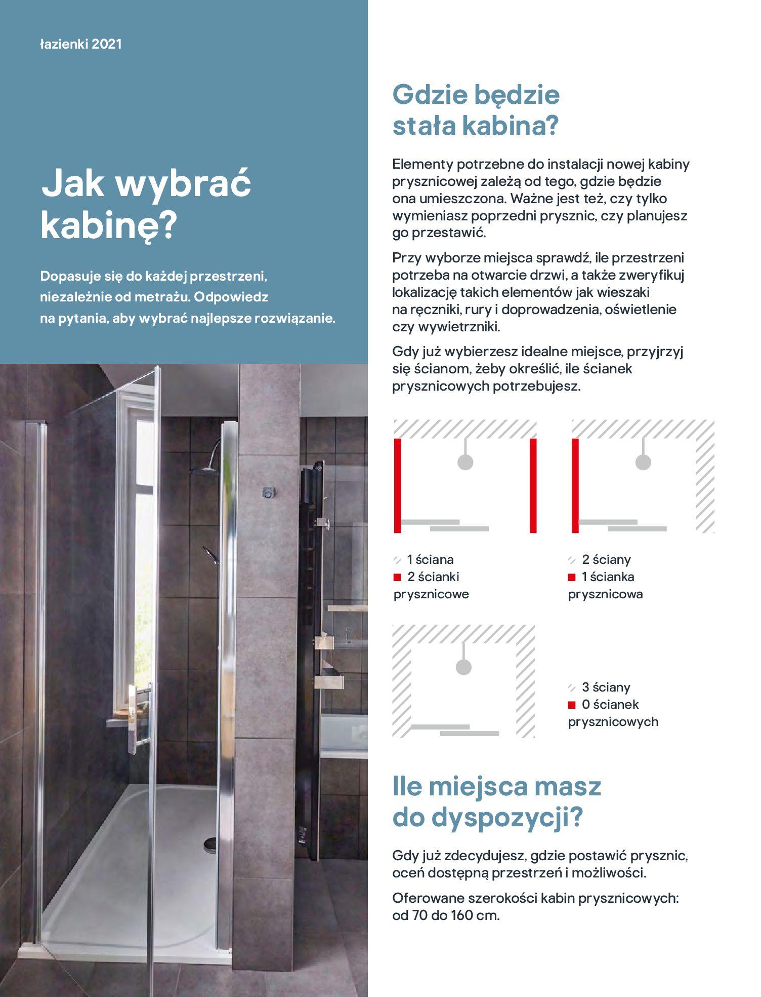 Gazetka Castorama: Gazetka Castorama - katalog łazienki 2021 2021-06-16 page-100