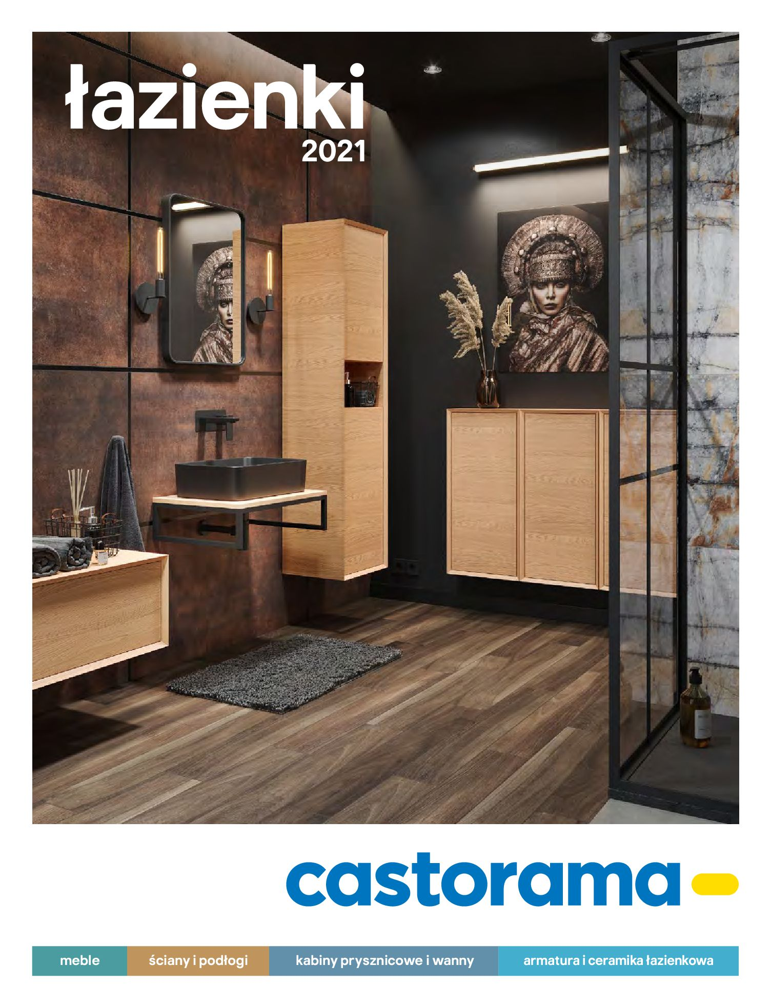 Gazetka Castorama: Gazetka Castorama - katalog łazienki 2021 2021-06-16 page-1