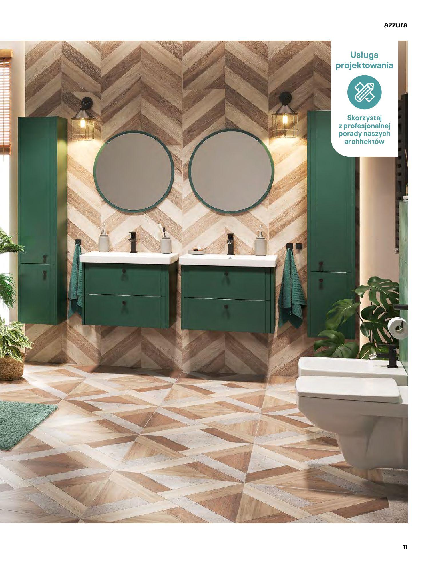 Gazetka Castorama: Gazetka Castorama - katalog łazienki 2021 2021-06-16 page-11