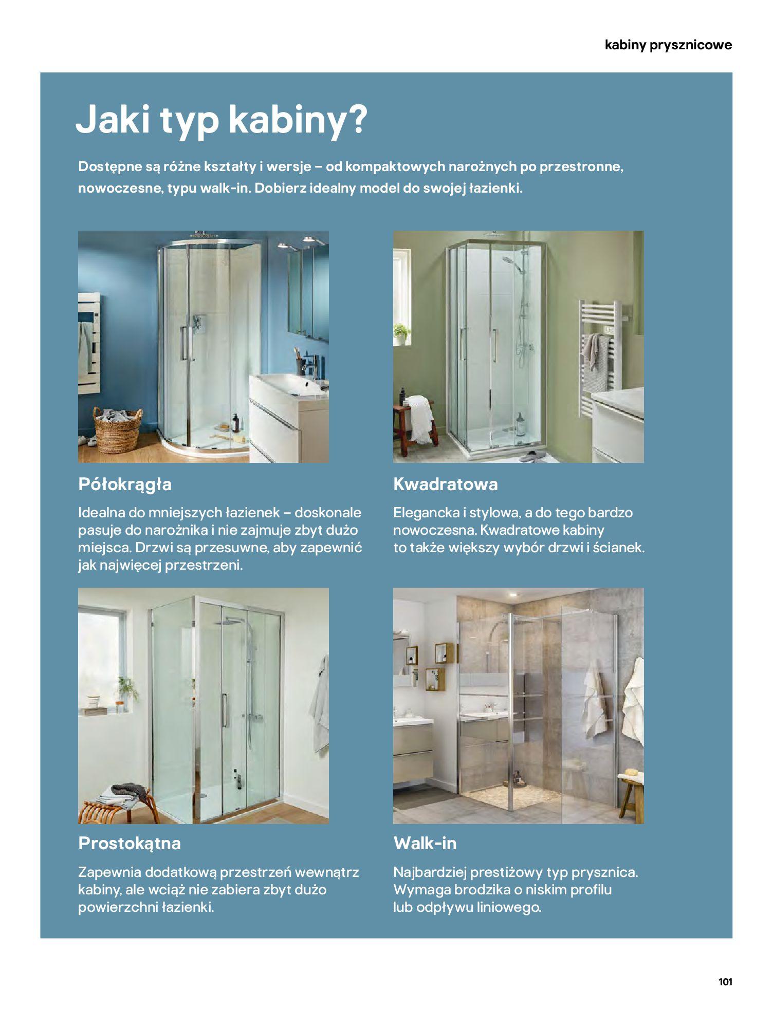 Gazetka Castorama: Gazetka Castorama - katalog łazienki 2021 2021-06-16 page-101