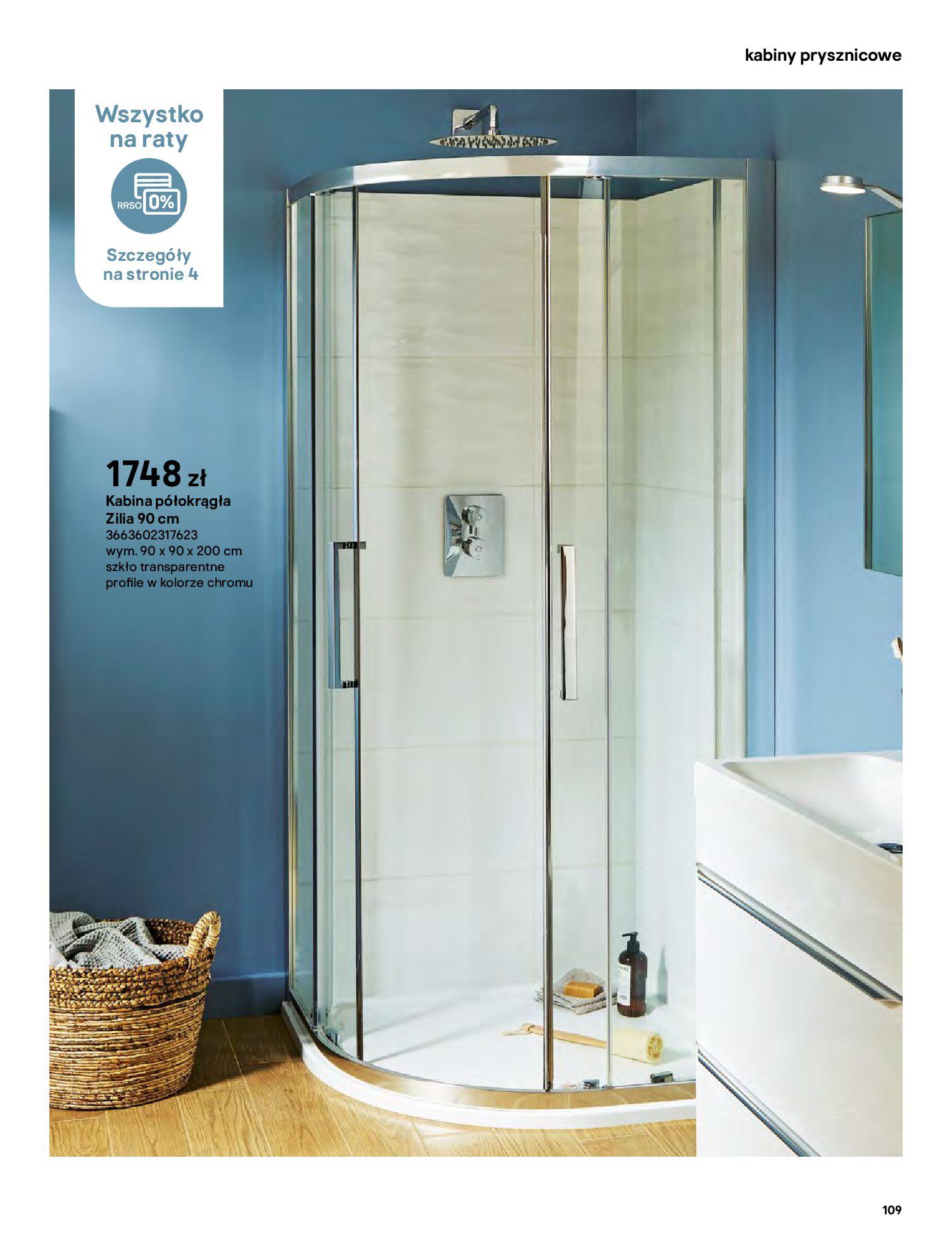 Gazetka Castorama: Gazetka Castorama - katalog łazienki 2021 2021-06-16 page-109