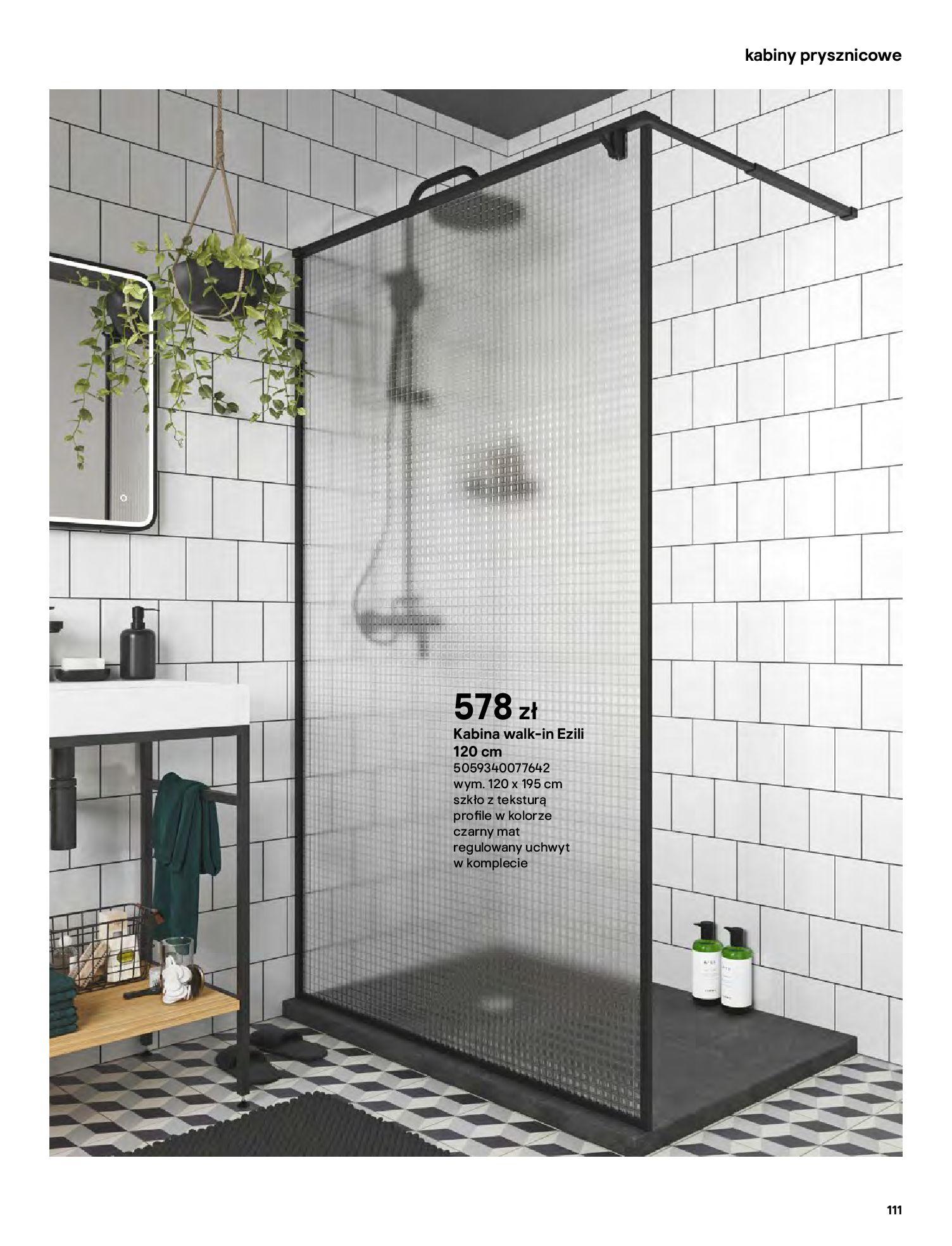 Gazetka Castorama: Gazetka Castorama - katalog łazienki 2021 2021-06-16 page-111