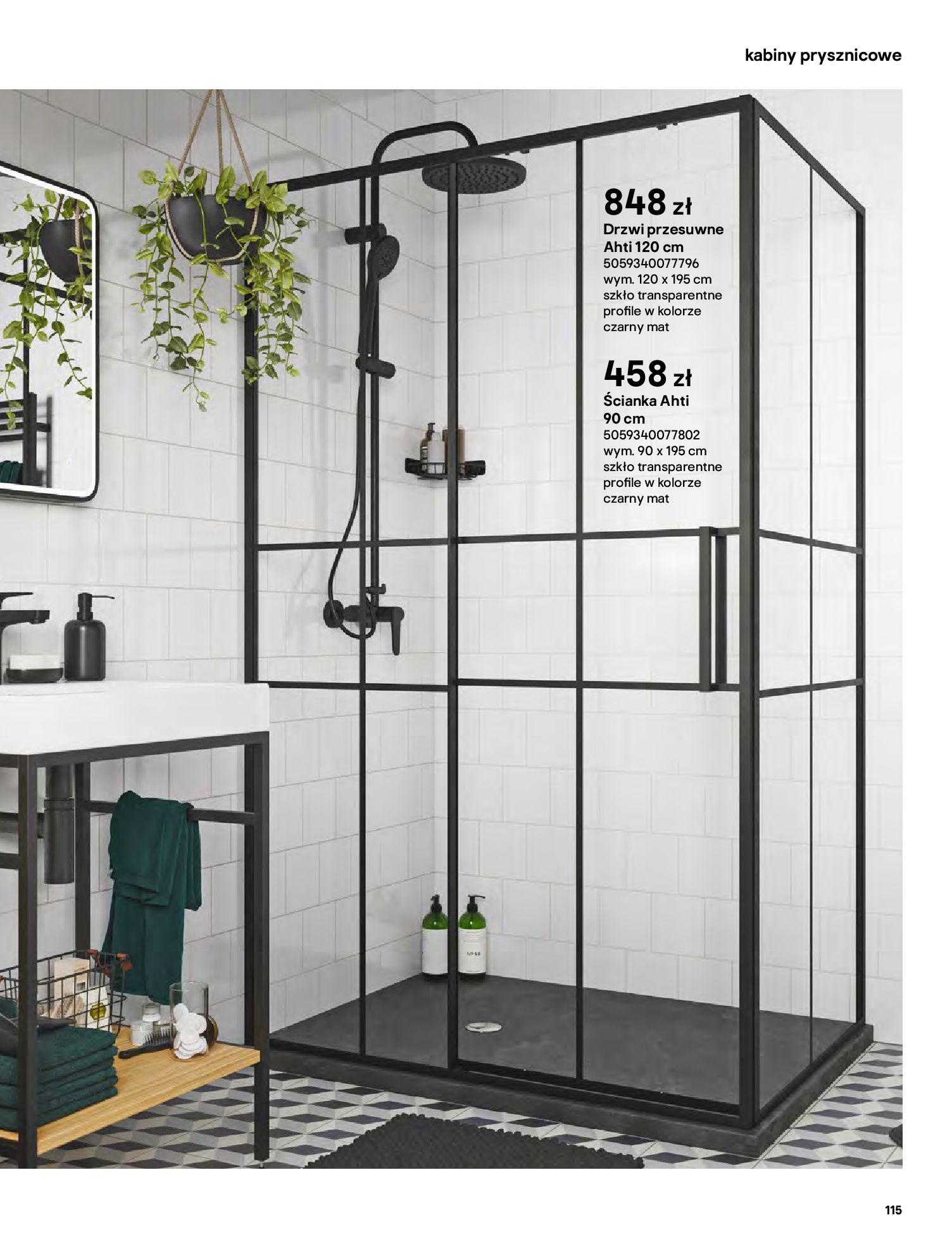 Gazetka Castorama: Gazetka Castorama - katalog łazienki 2021 2021-06-16 page-115