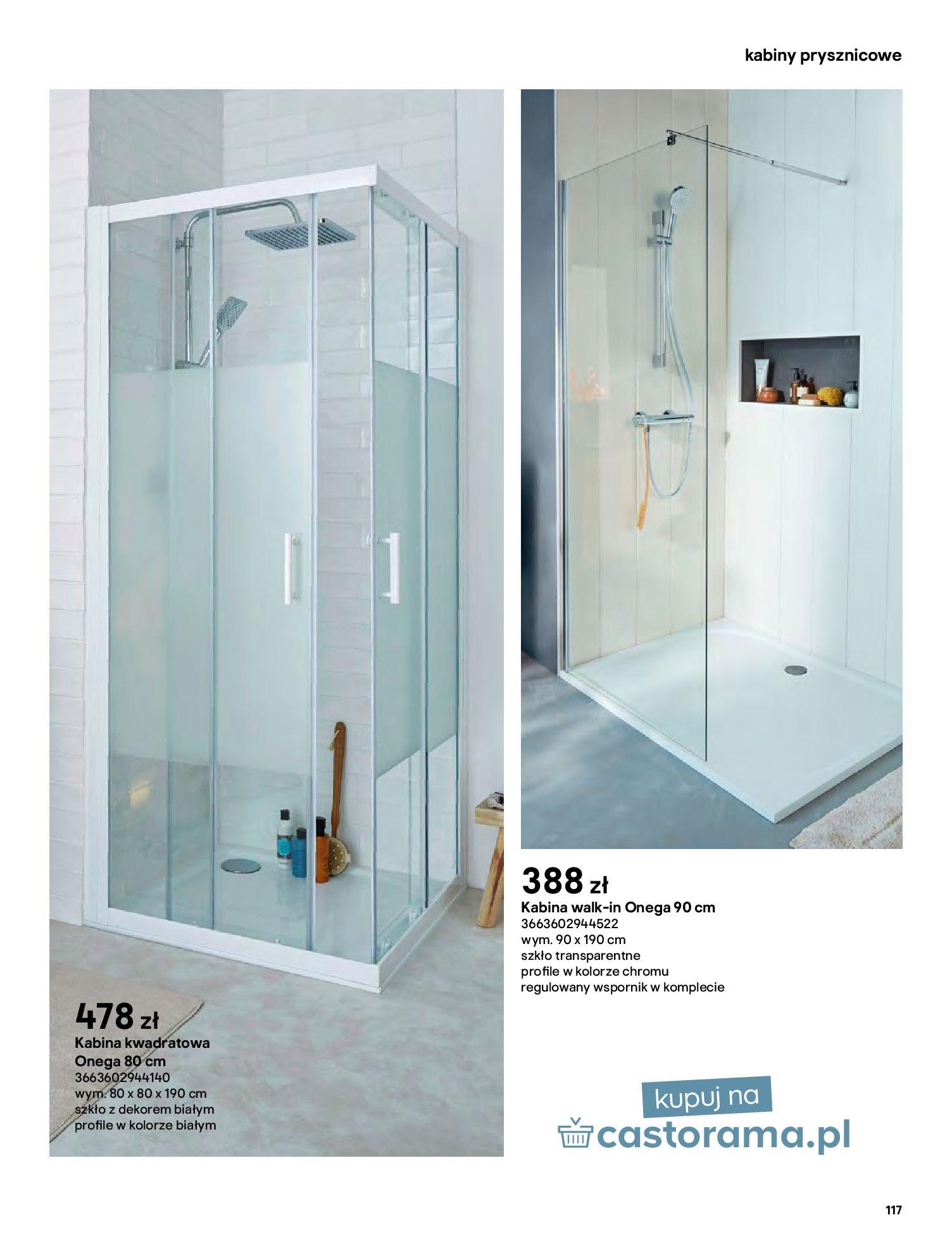 Gazetka Castorama: Gazetka Castorama - katalog łazienki 2021 2021-06-16 page-117