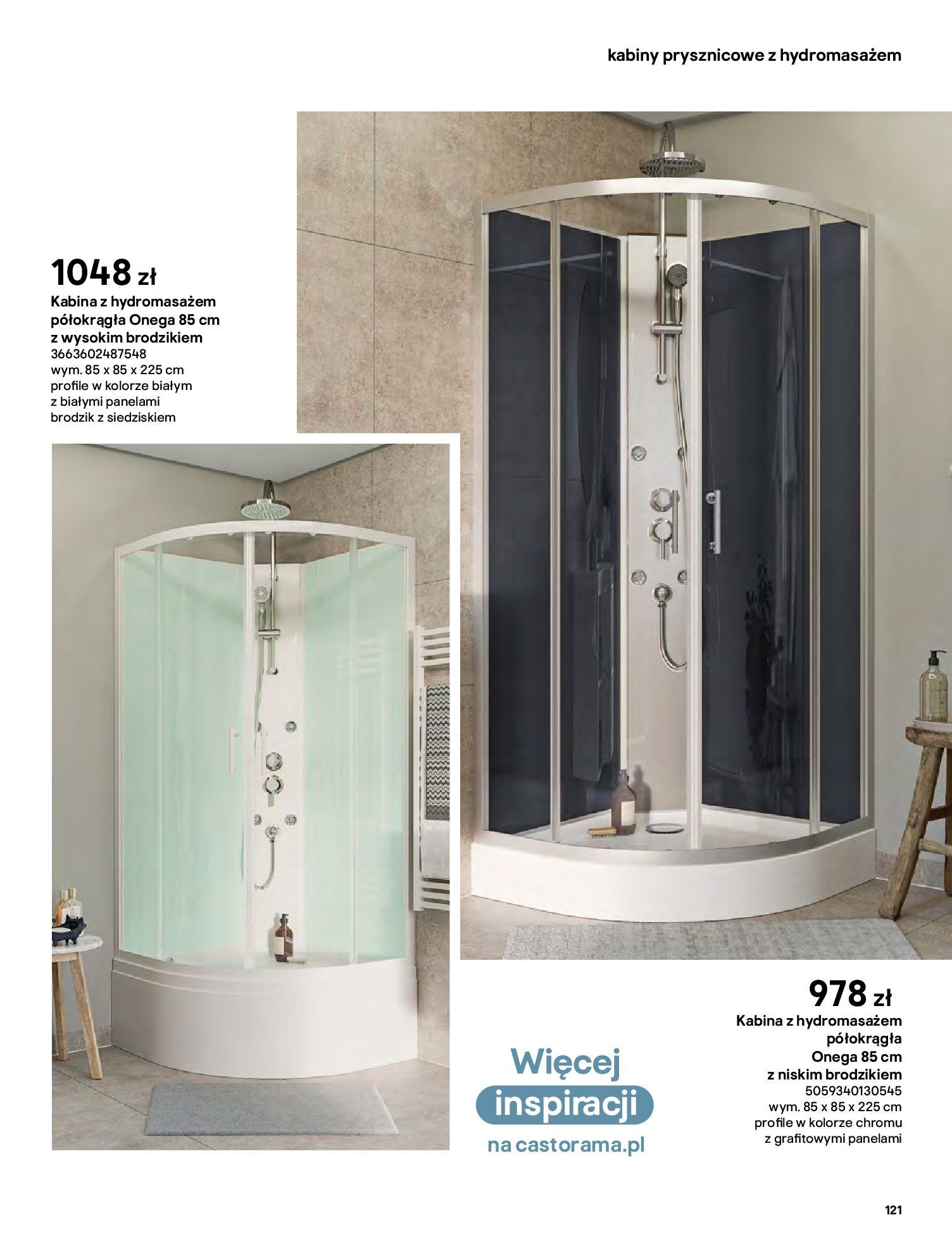 Gazetka Castorama: Gazetka Castorama - katalog łazienki 2021 2021-06-16 page-121
