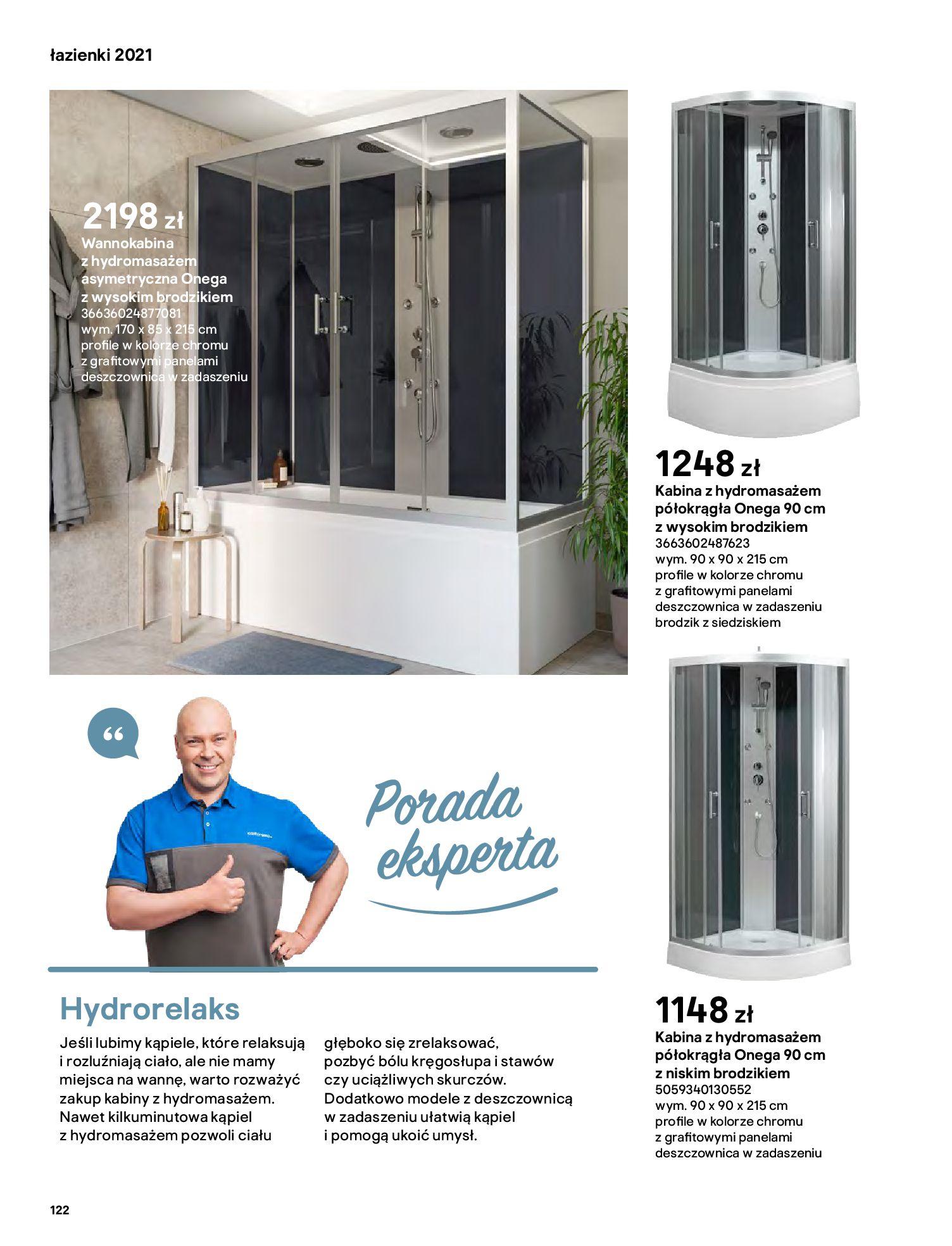 Gazetka Castorama: Gazetka Castorama - katalog łazienki 2021 2021-06-16 page-122