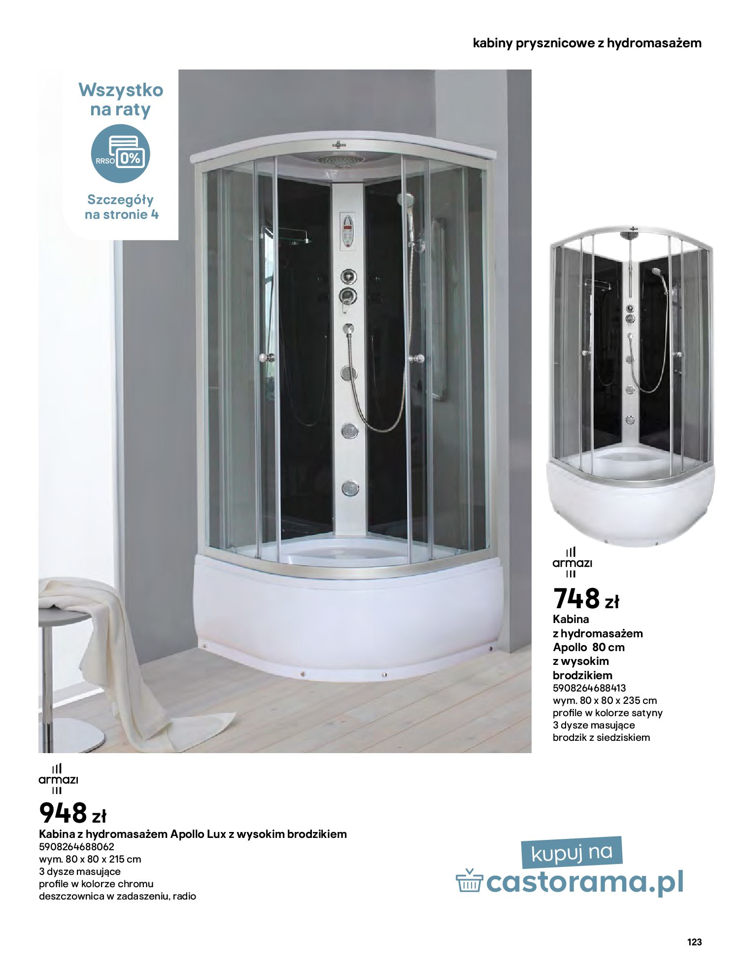 Gazetka Castorama: Gazetka Castorama - katalog łazienki 2021 2021-06-16 page-123