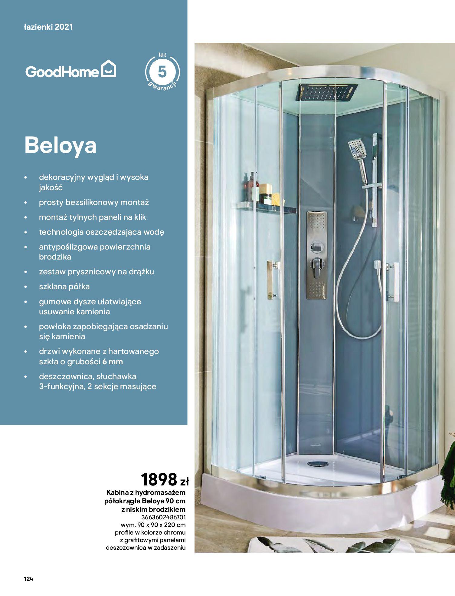 Gazetka Castorama: Gazetka Castorama - katalog łazienki 2021 2021-06-16 page-124