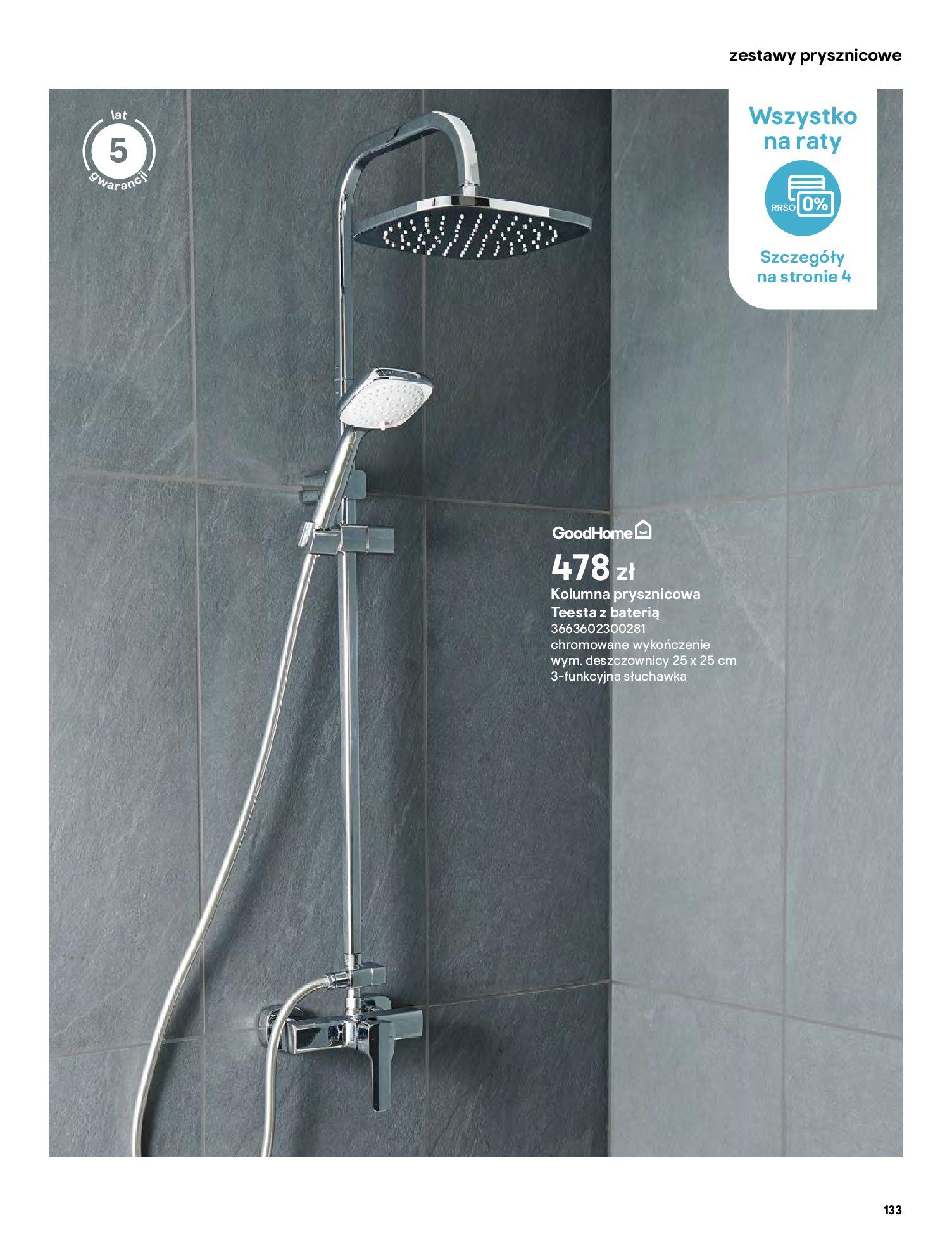 Gazetka Castorama: Gazetka Castorama - katalog łazienki 2021 2021-06-16 page-133