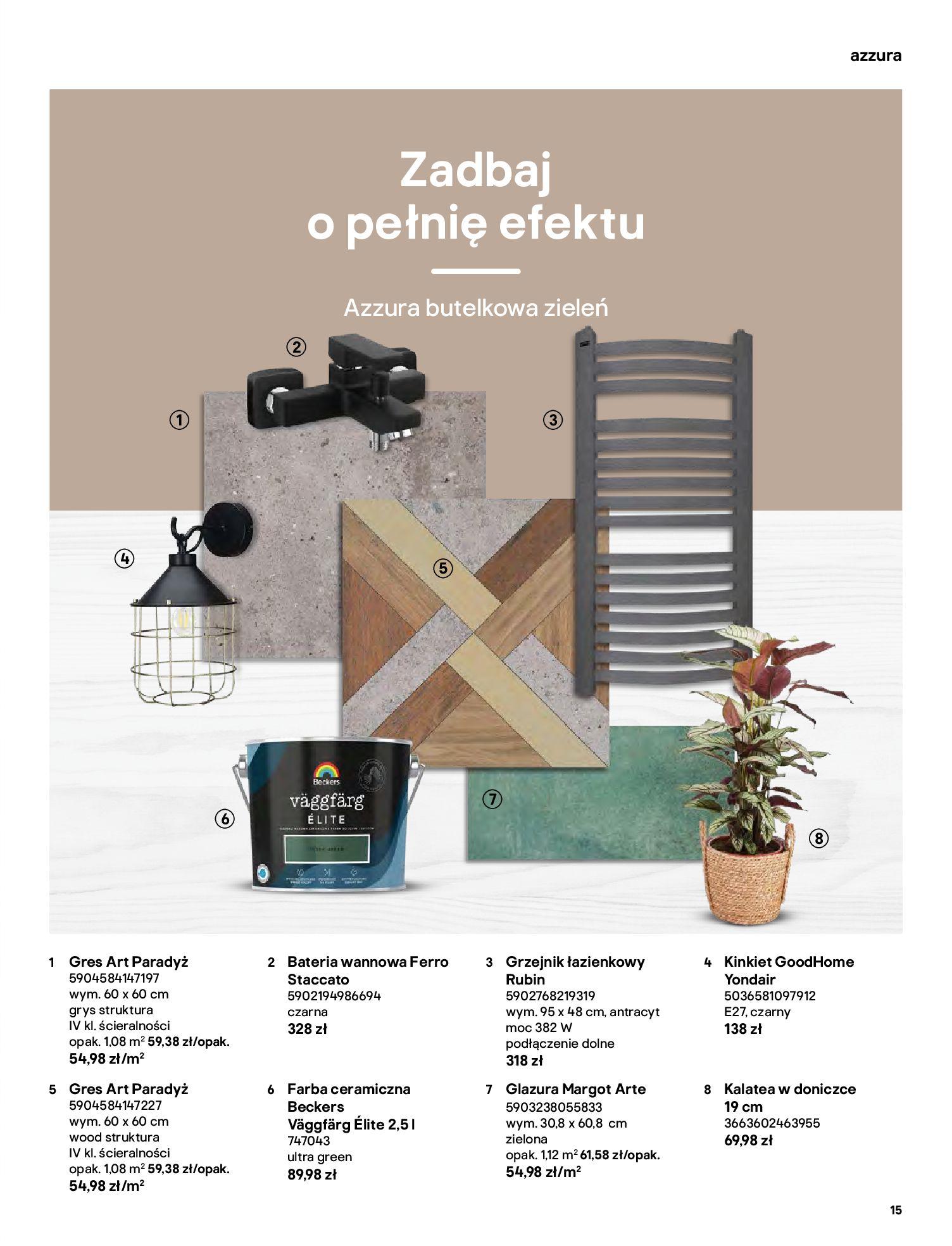 Gazetka Castorama: Gazetka Castorama - katalog łazienki 2021 2021-06-16 page-15