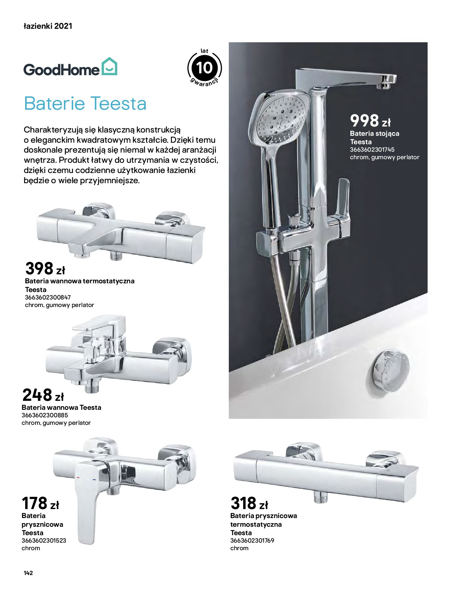 Gazetka Castorama: Gazetka Castorama - katalog łazienki 2021 2021-06-16 page-142