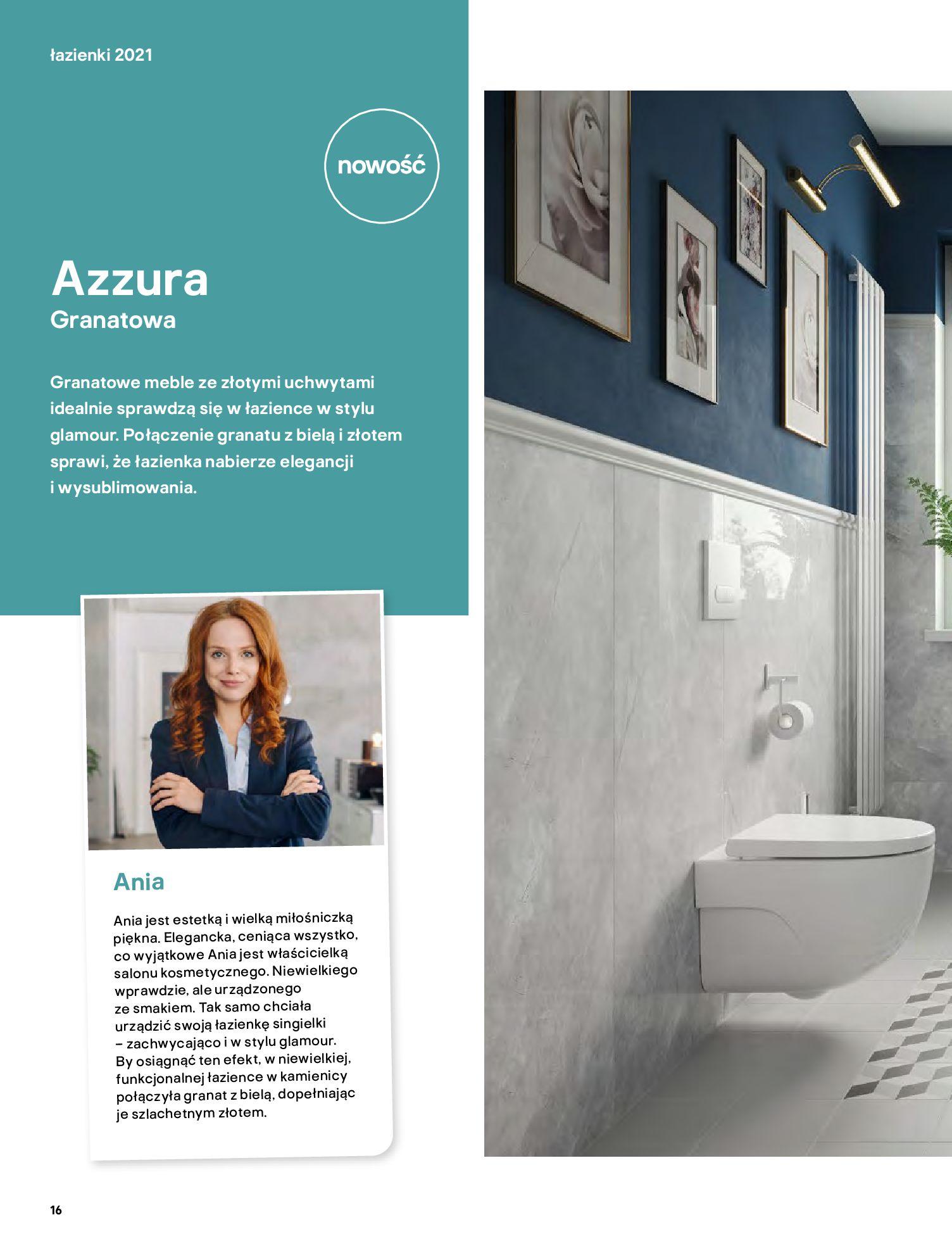 Gazetka Castorama: Gazetka Castorama - katalog łazienki 2021 2021-06-16 page-16