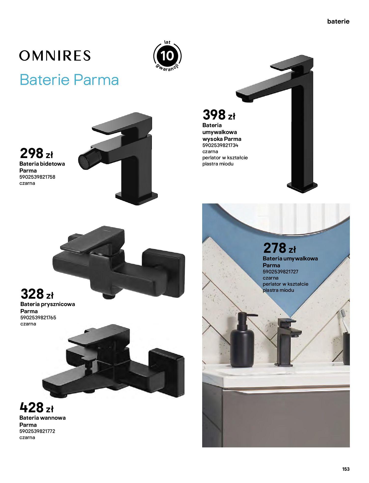 Gazetka Castorama: Gazetka Castorama - katalog łazienki 2021 2021-06-16 page-153